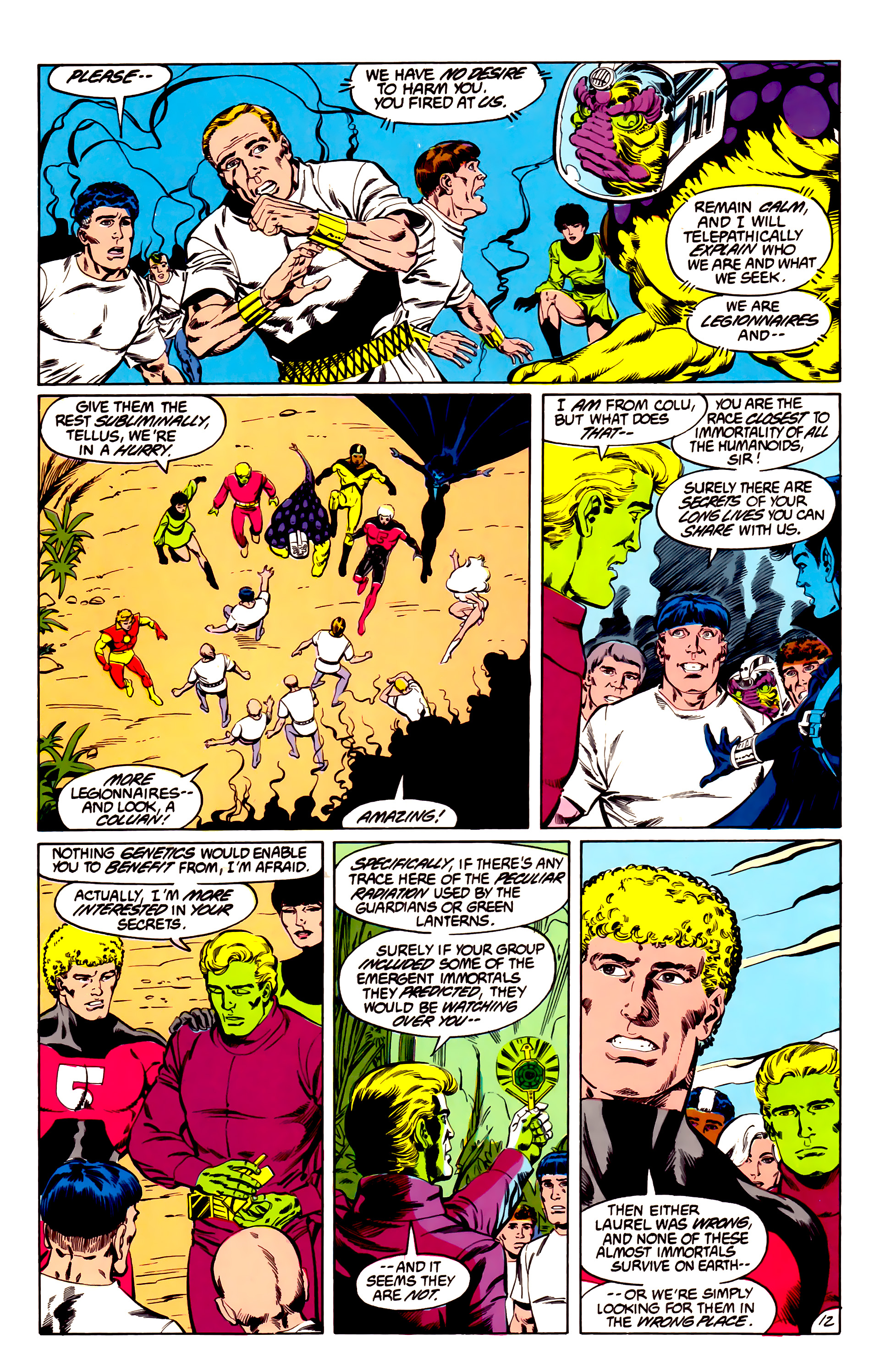 Legion of Super-Heroes (1984) 43 Page 12