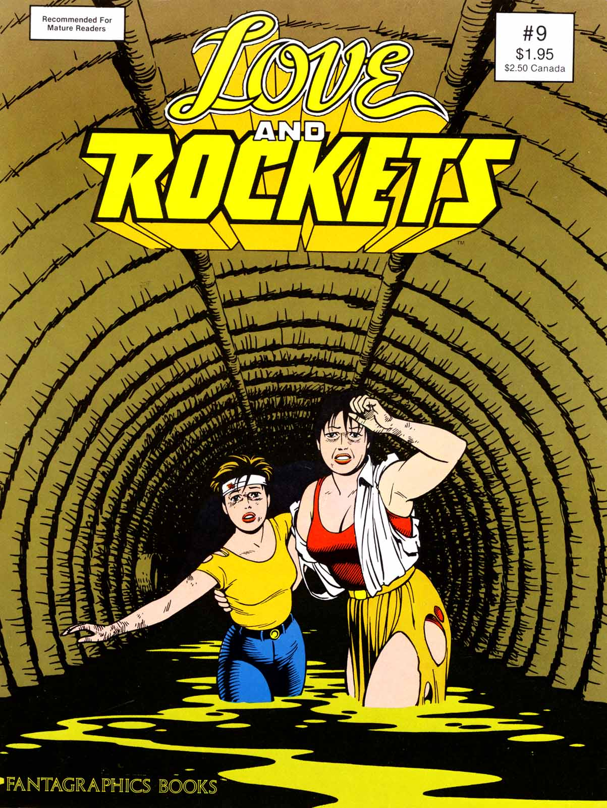 Love and Rockets (1982) issue 9 - Page 1