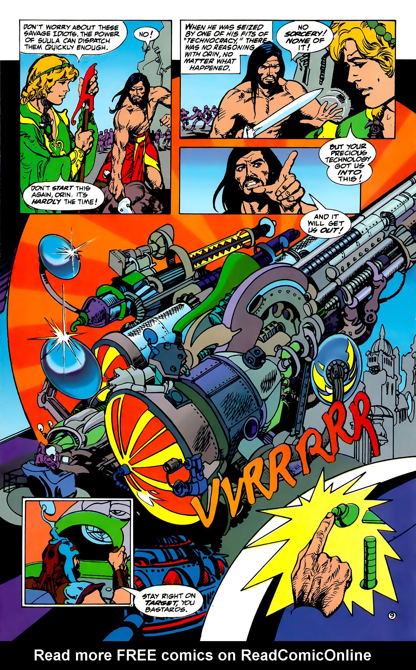 Read online Atlantis Chronicles comic -  Issue #1 - 9
