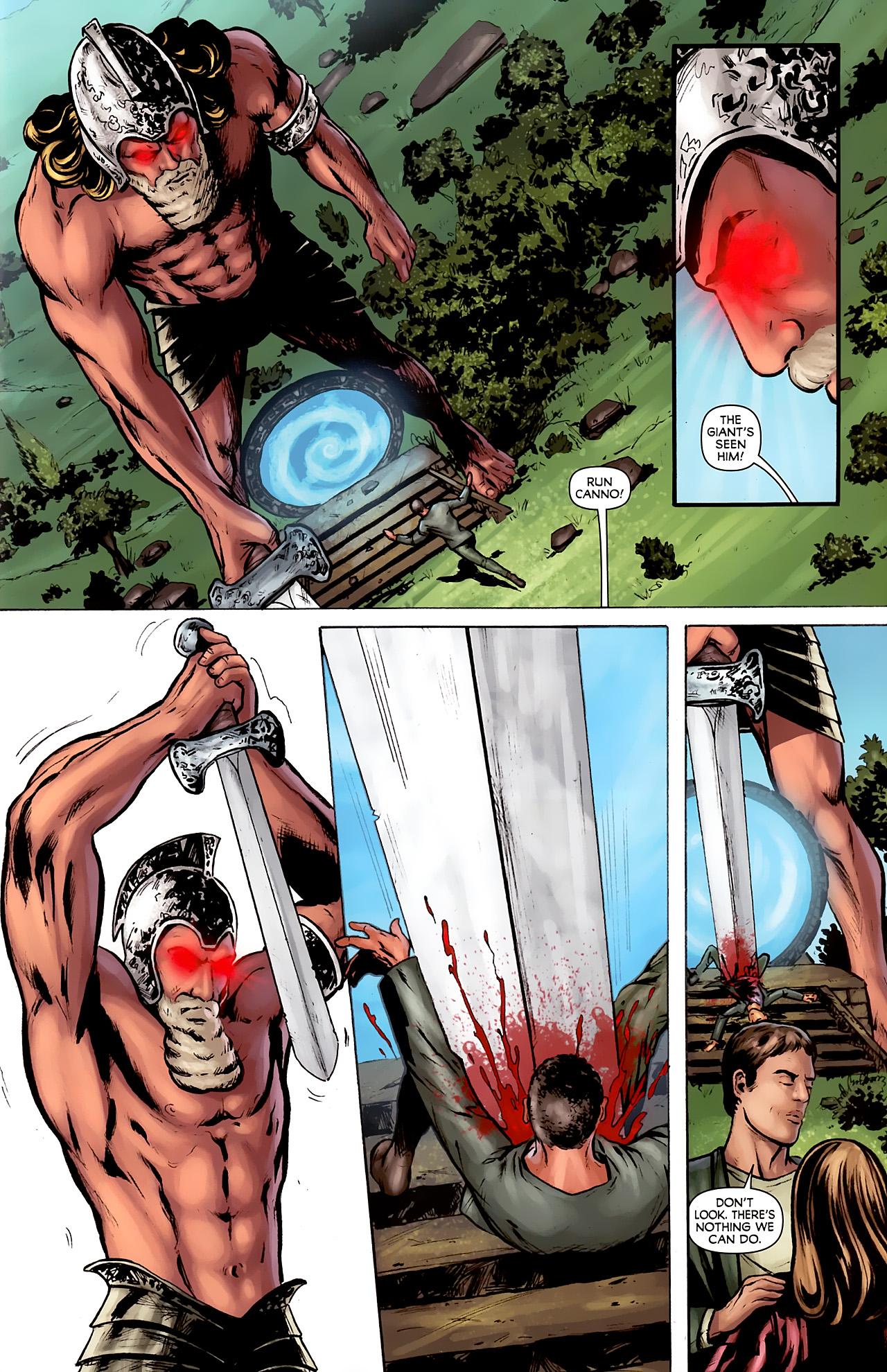 Read online Stargate: Daniel Jackson comic -  Issue #2 - 13