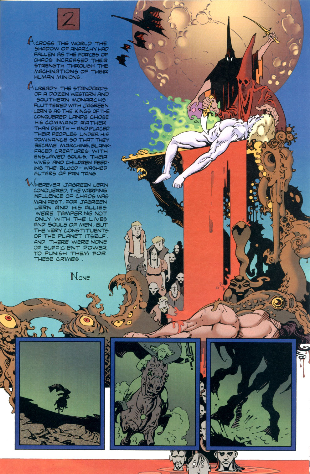Read online Elric: Stormbringer comic -  Issue #4 - 15