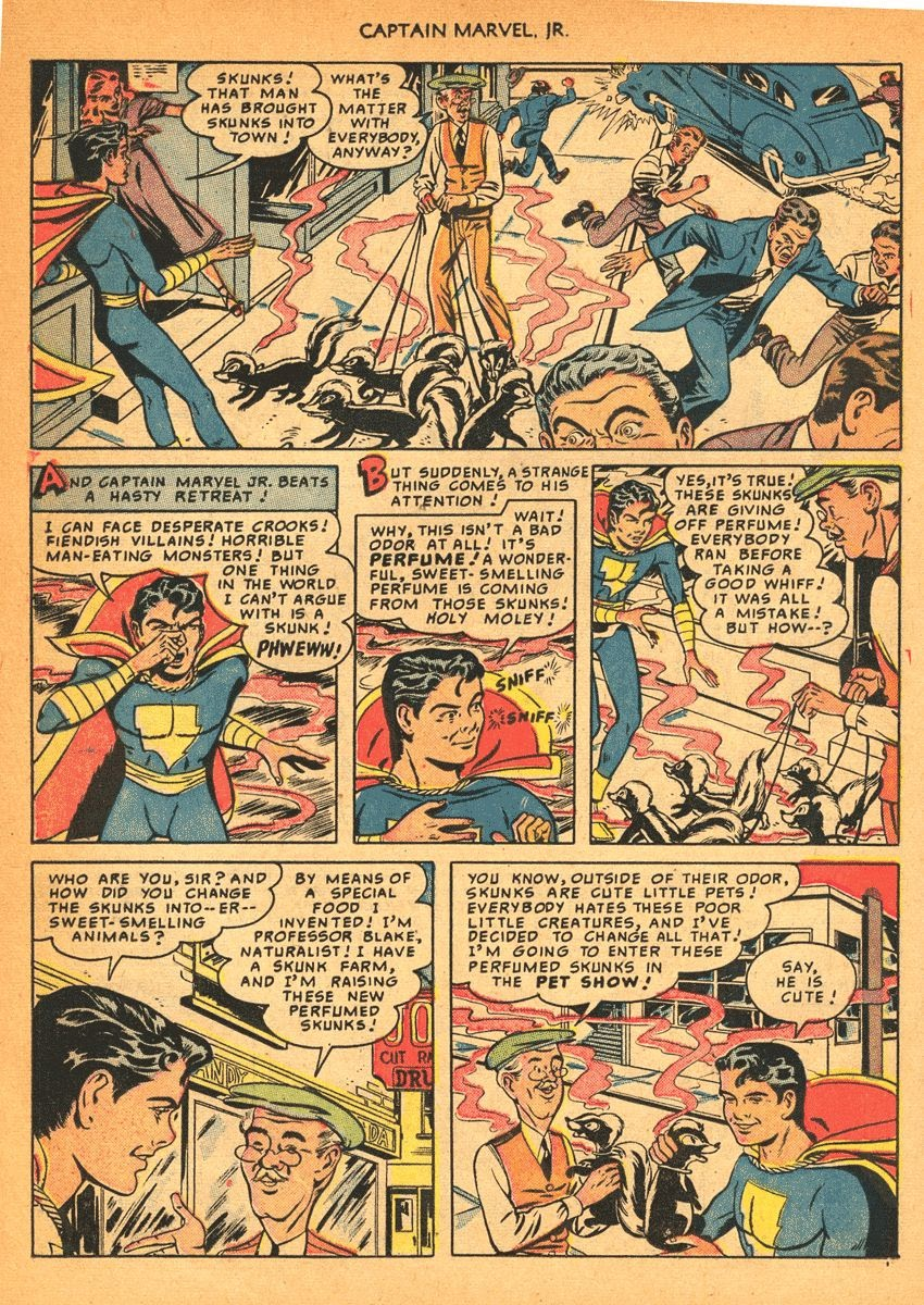 Captain Marvel, Jr. issue 84 - Page 21