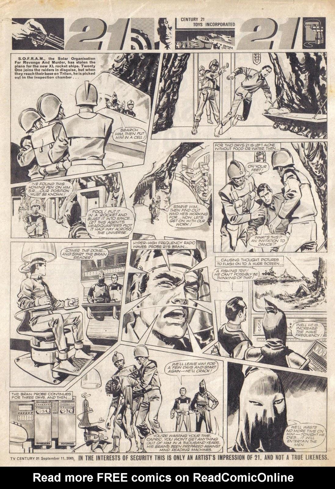 TV Century 21 (TV 21) issue 34 - Page 7