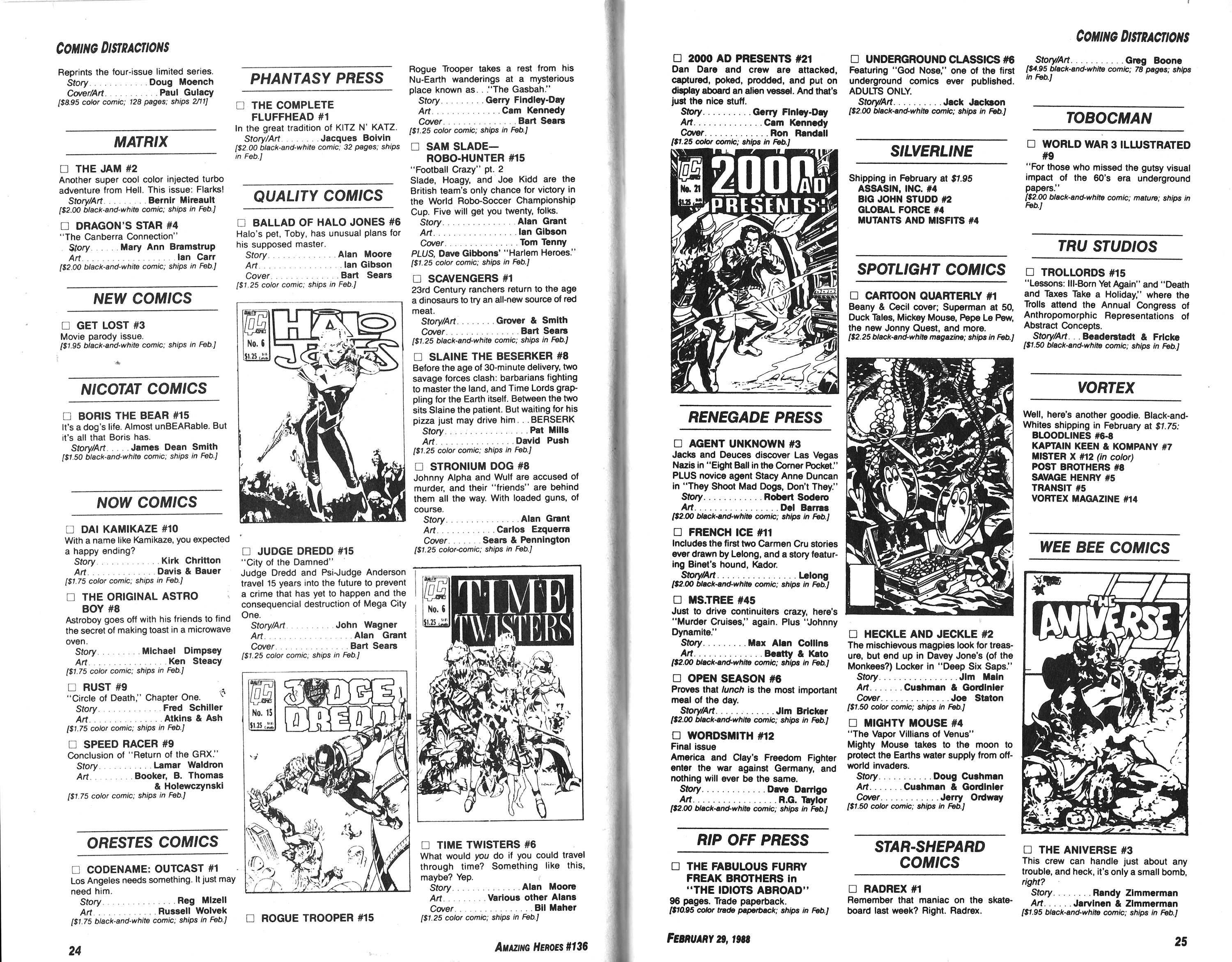 Read online Amazing Heroes comic -  Issue #136 - 13