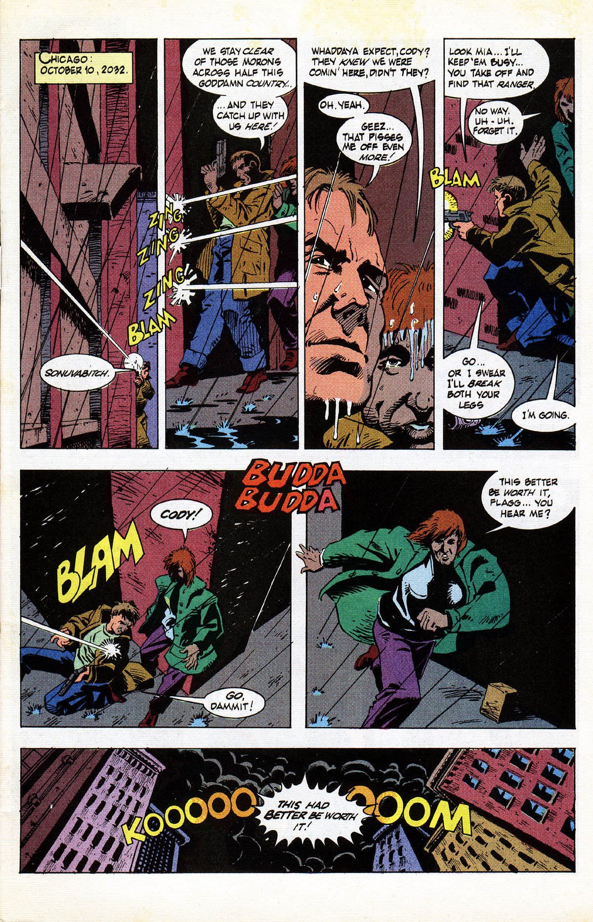 Read online American Flagg! comic -  Issue #38 - 3
