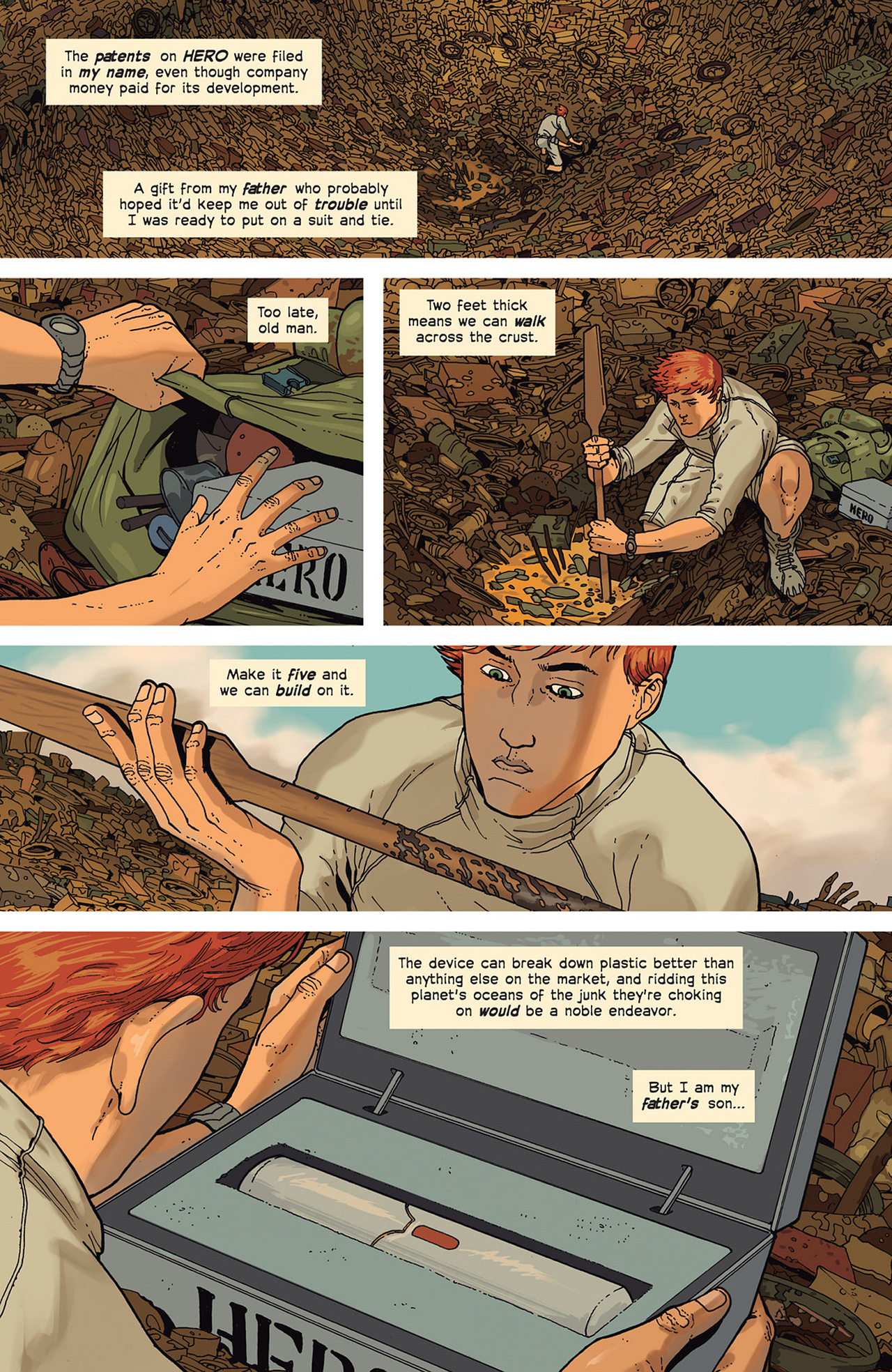Read online Great Pacific comic -  Issue #2 - 14