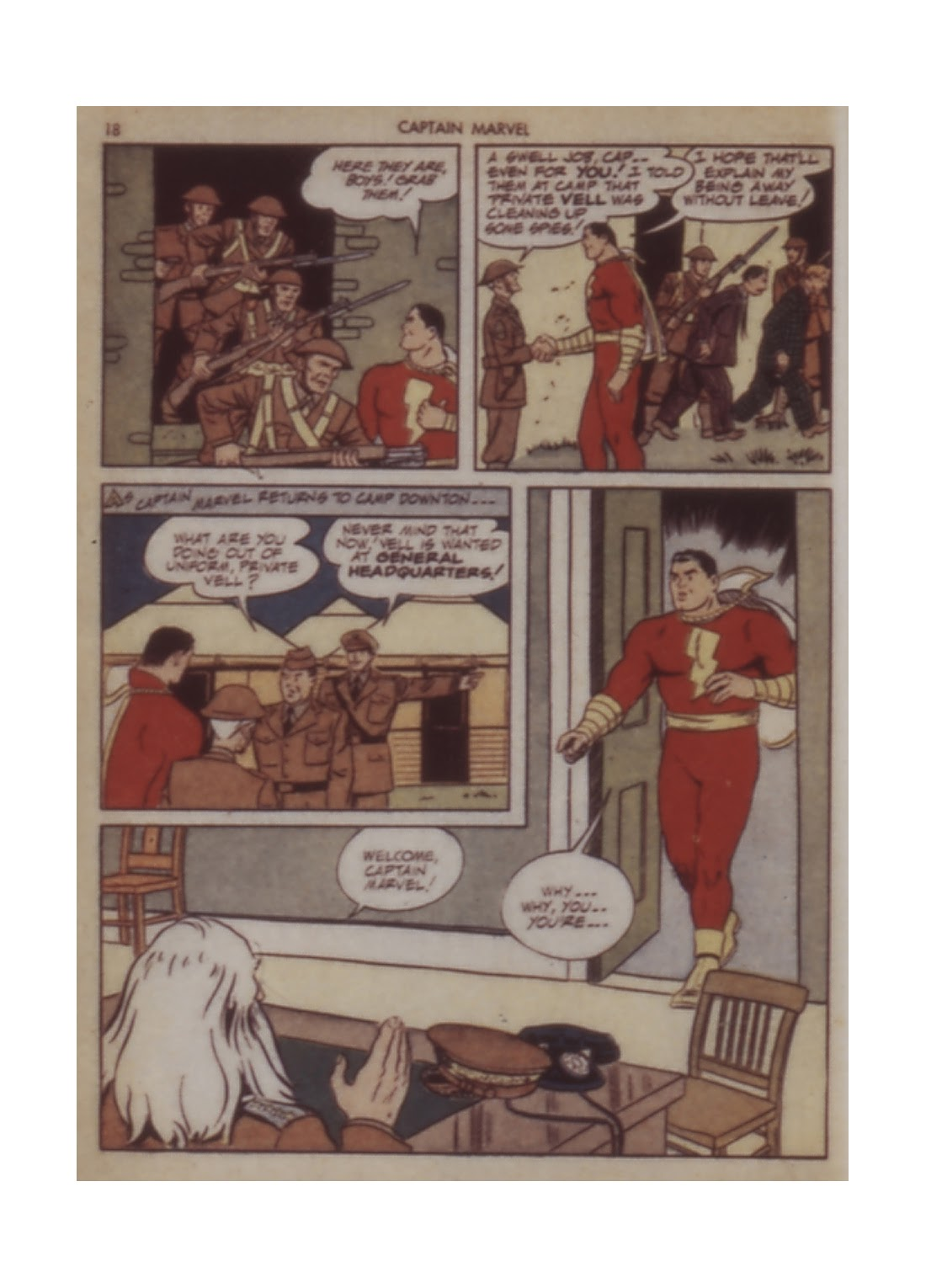 Captain Marvel Adventures issue 12 - Page 18