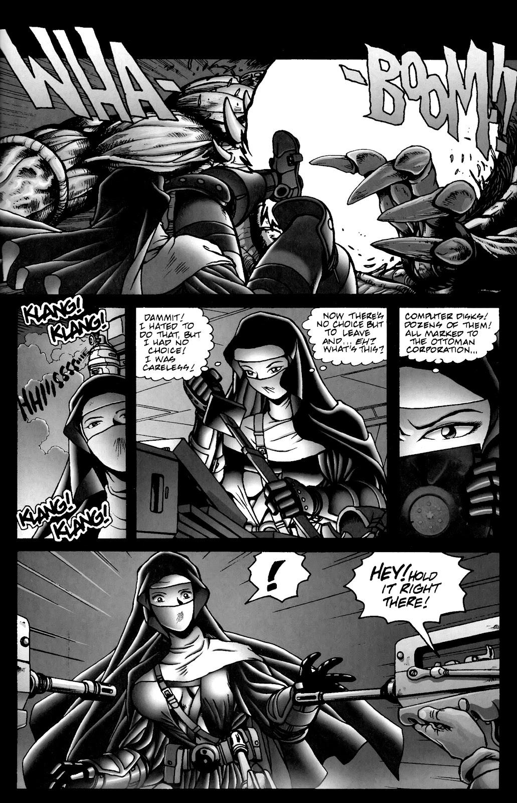 Warrior Nun Areala:  Dangerous Game Issue #3 #3 - English 32