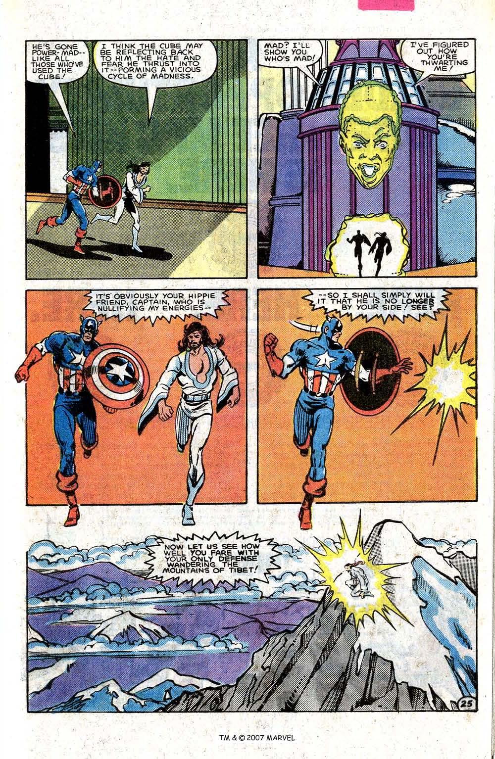 Read online Captain America (1968) comic -  Issue # _Annual 7 - 33