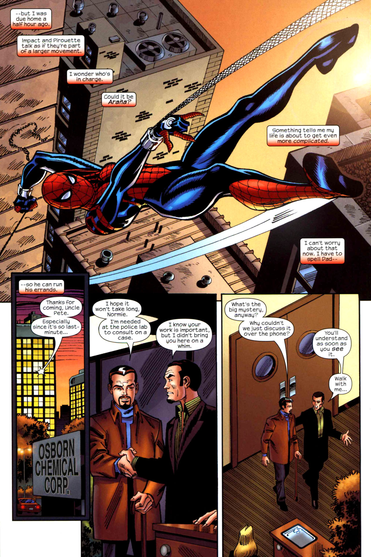 Read online Amazing Spider-Girl comic -  Issue #20 - 21