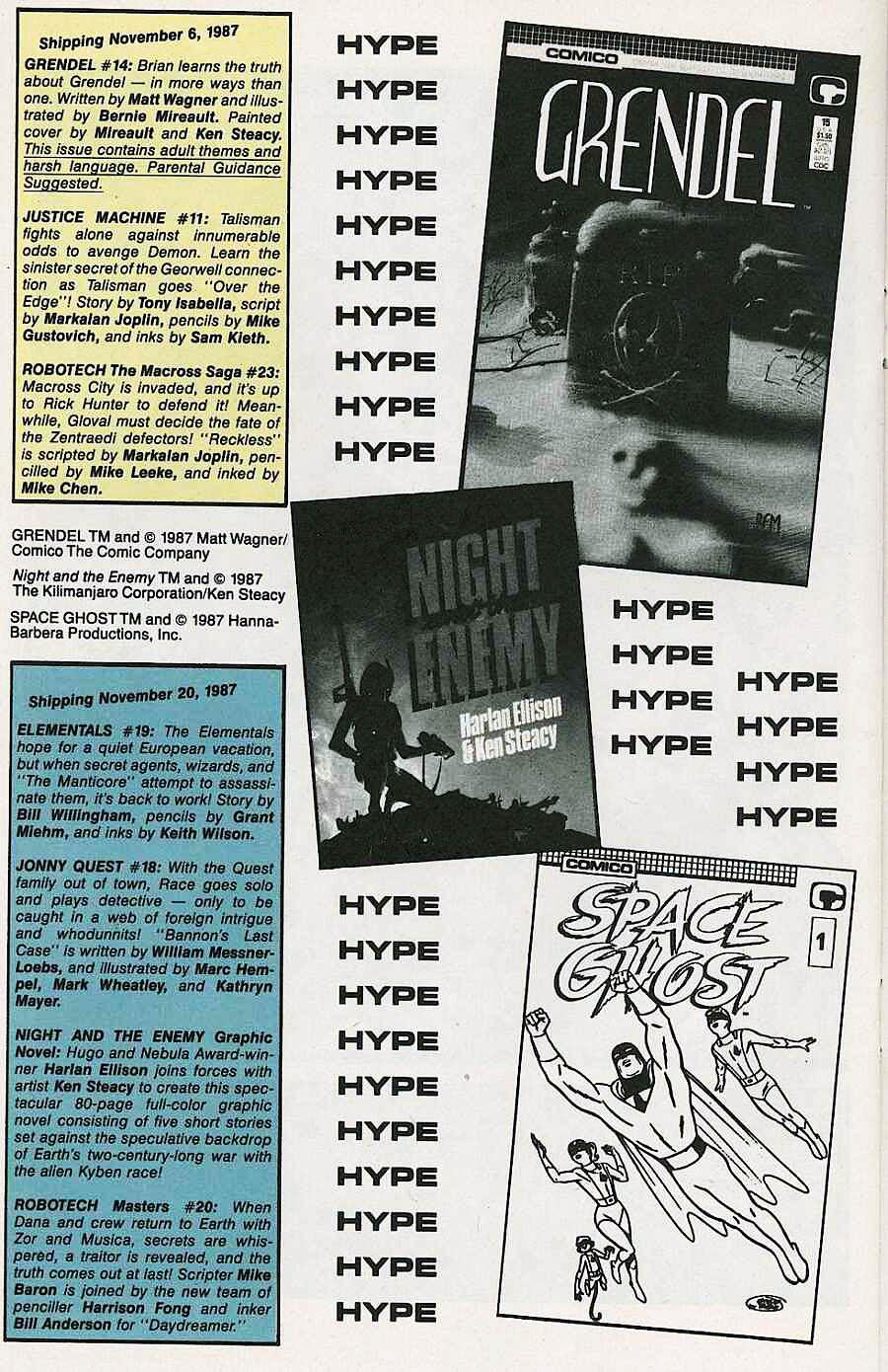 Elementals (1984) issue 19 - Page 30