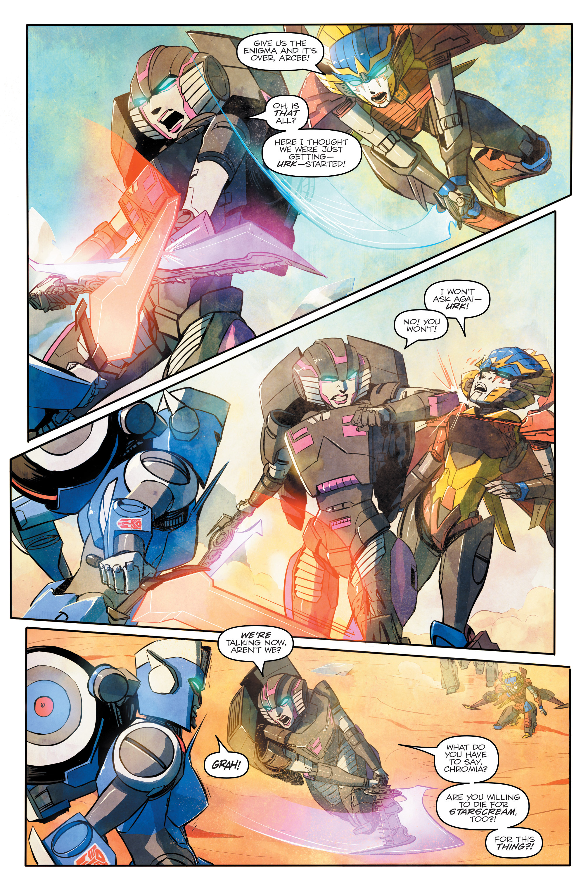 Read online Transformers: Combiner Hunters comic -  Issue # Full - 11