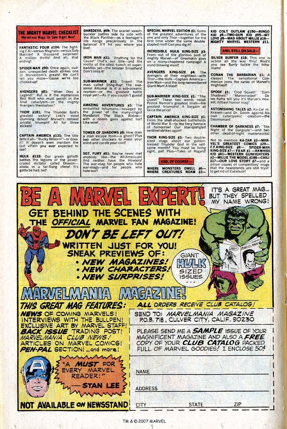 Read online Captain America (1968) comic -  Issue # _Annual 1 - 48