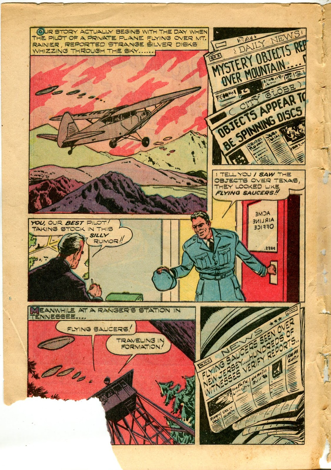 Shadow Comics issue 82 - Page 4