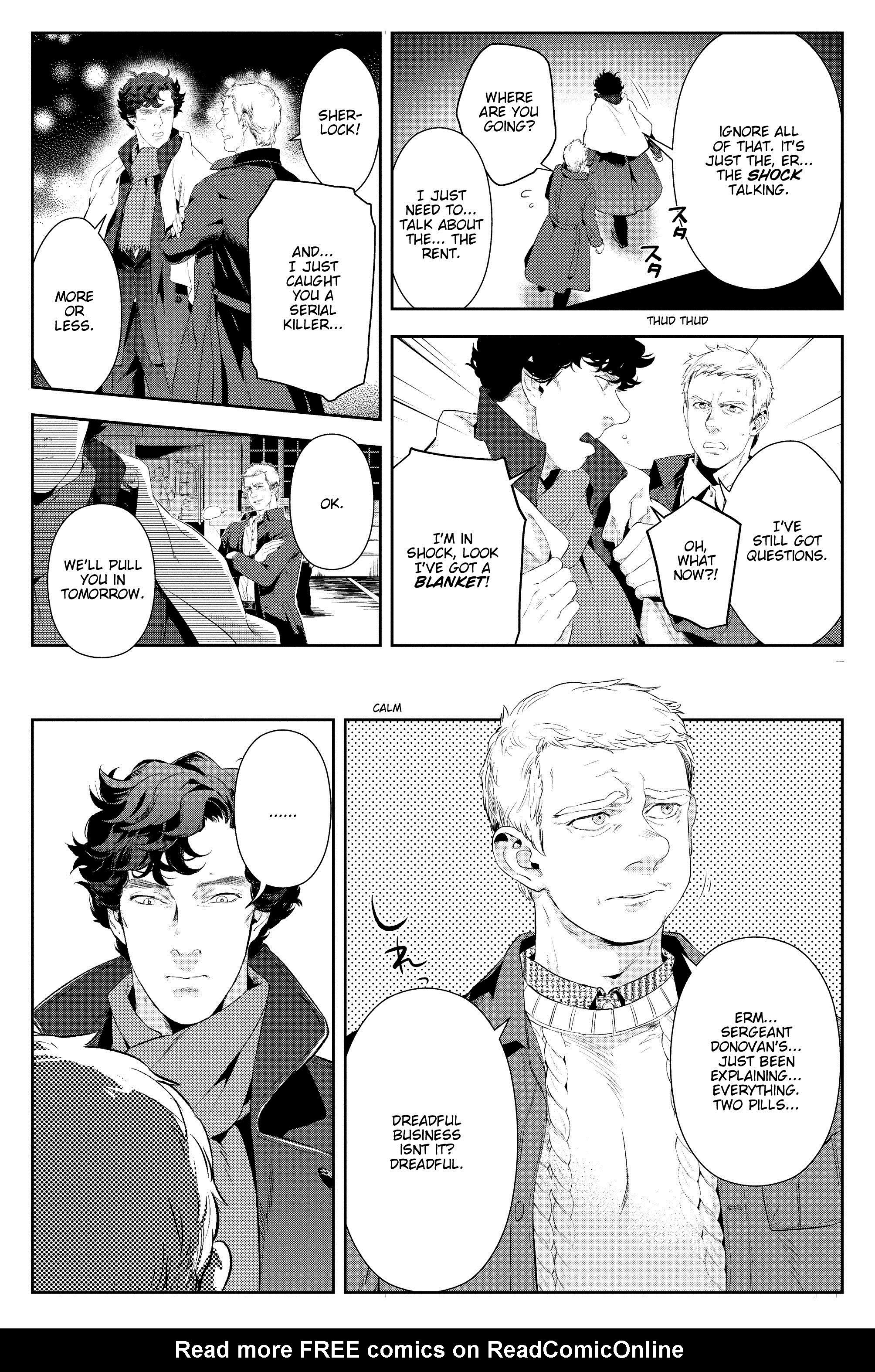 Read online Sherlock: A Study In Pink comic -  Issue #6 - 34
