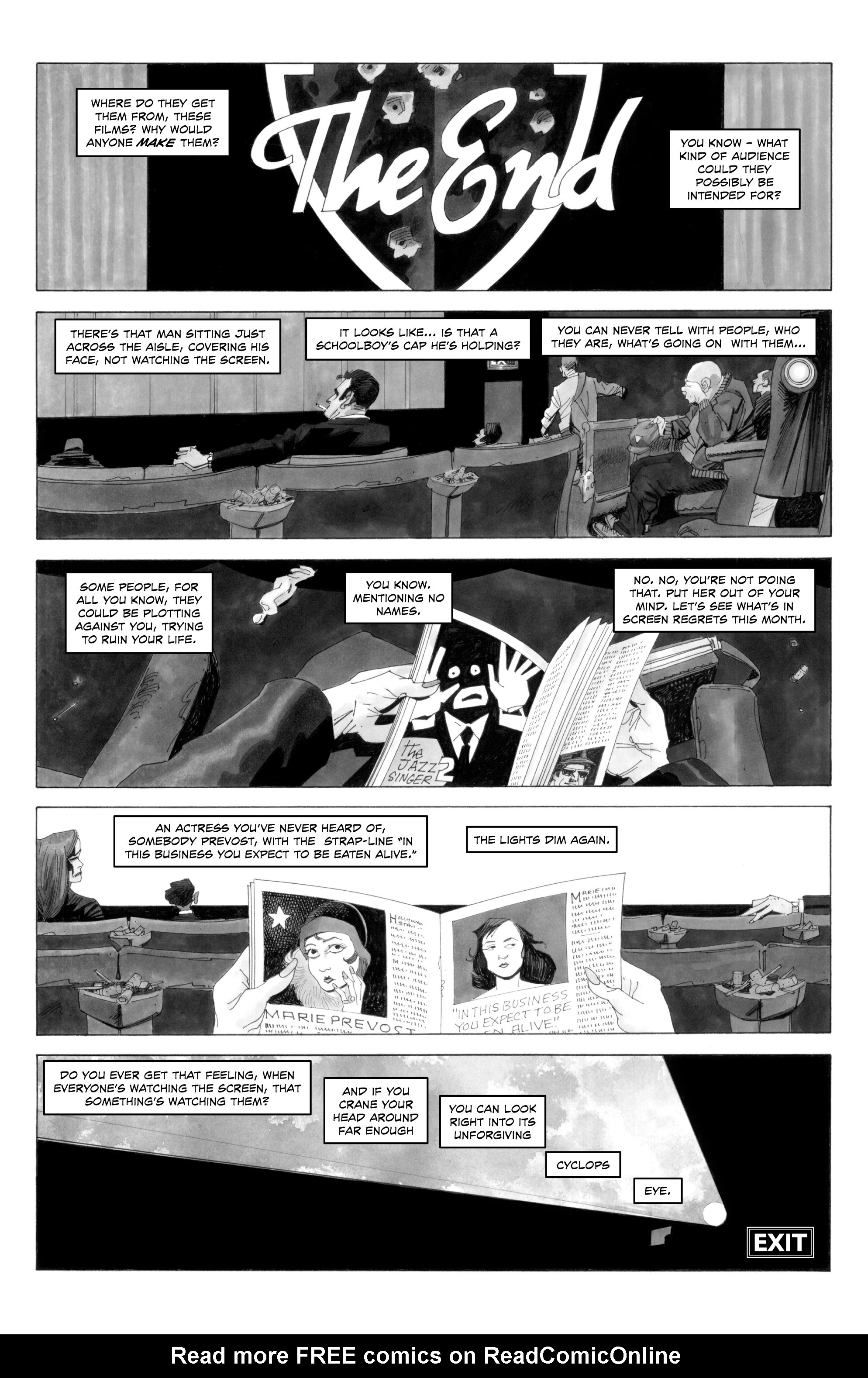 Read online Alan Moore's Cinema Purgatorio comic -  Issue #6 - 12