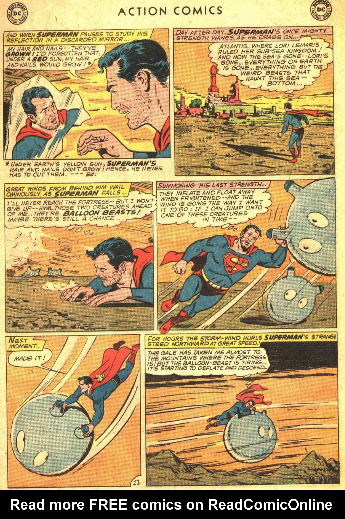 Read online Action Comics (1938) comic -  Issue #300 - 13
