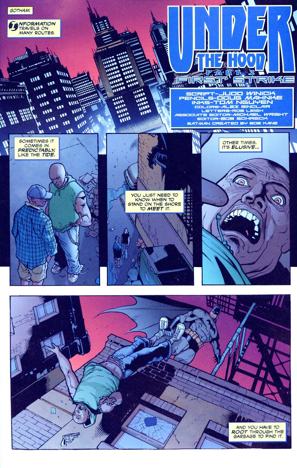 Batman: Under The Hood issue 2 - Page 2