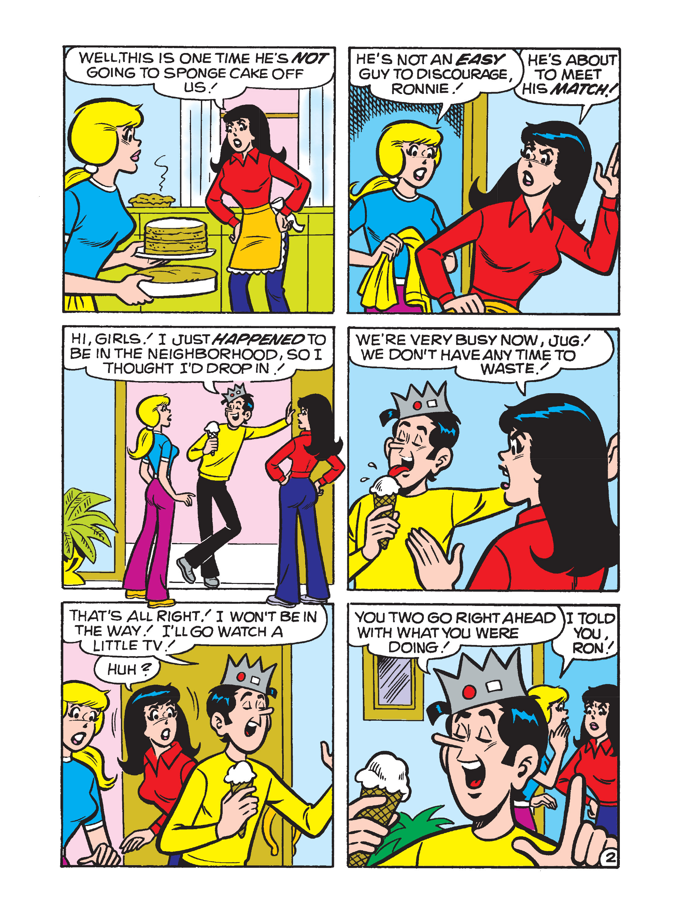 Read online Archie's Funhouse Double Digest comic -  Issue #8 - 90