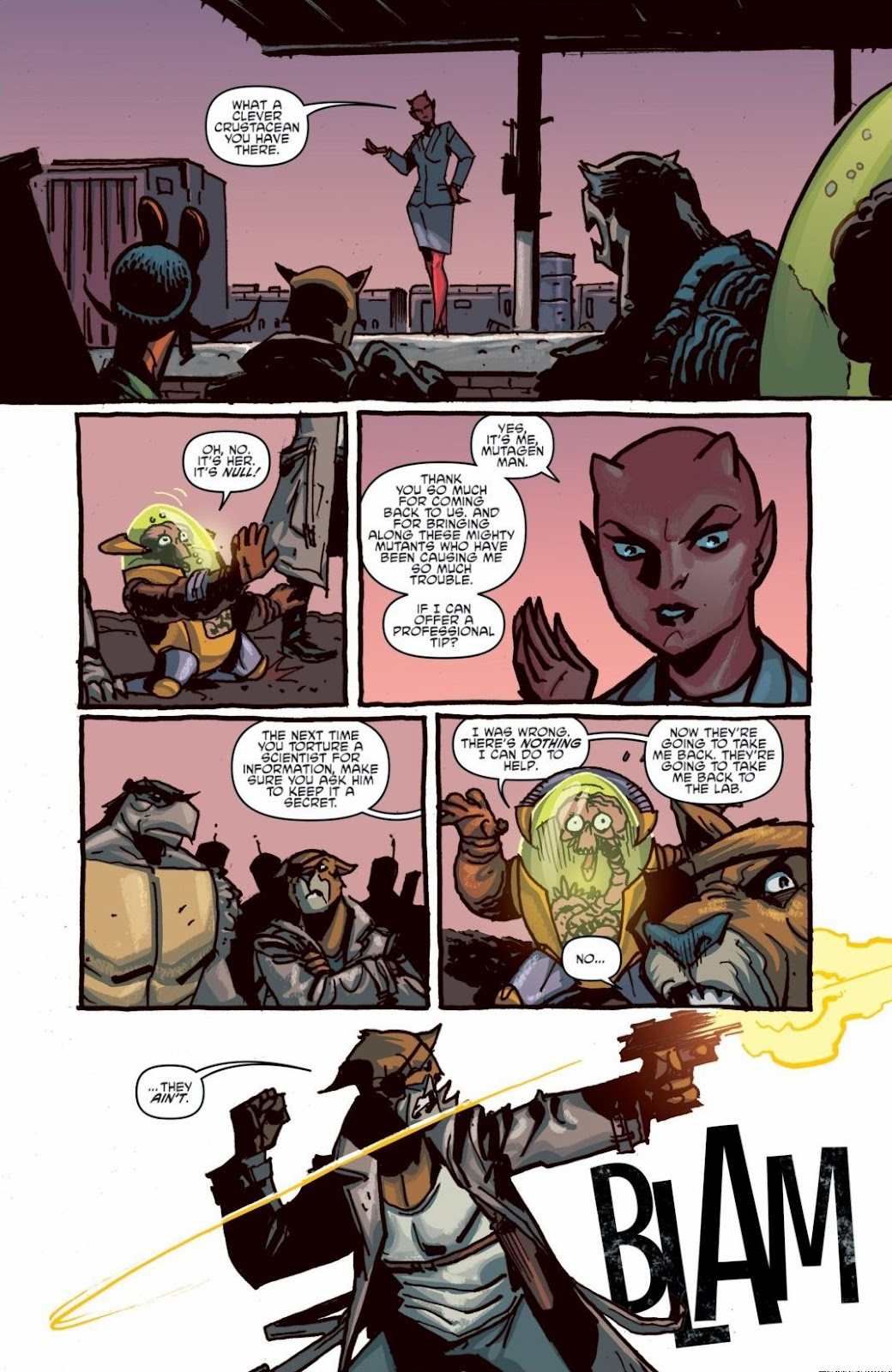 Read online Teenage Mutant Ninja Turtles: The IDW Collection comic -  Issue # TPB 6 (Part 1) - 45