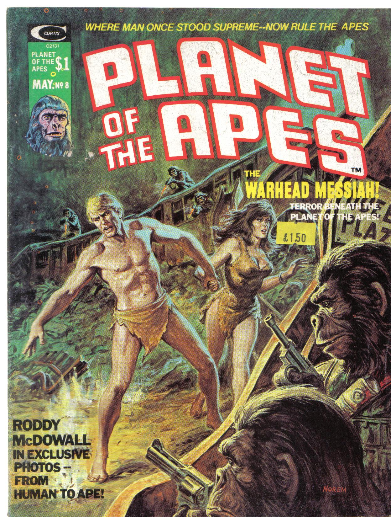 Planet of the Apes (1974) 8 Page 1