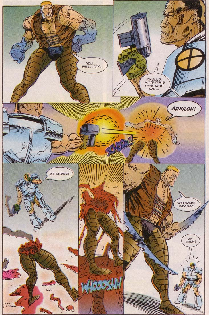 Read online Cyberspace 3000 comic -  Issue #7 - 14