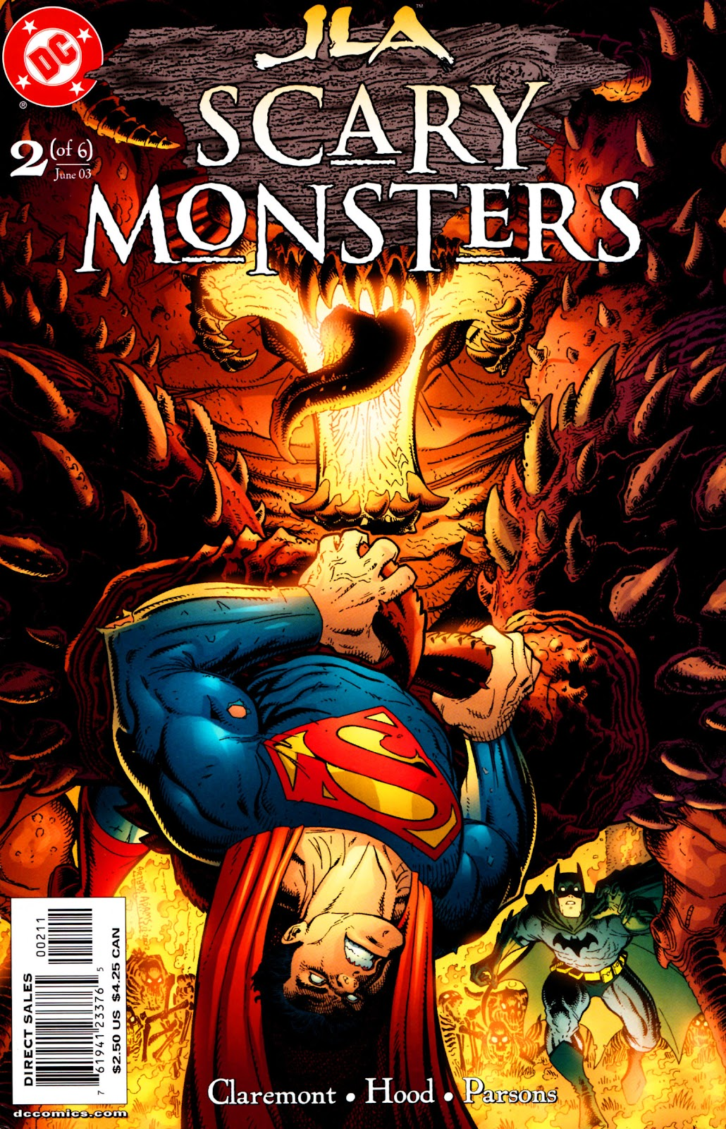 JLA: Scary Monsters issue 2 - Page 1