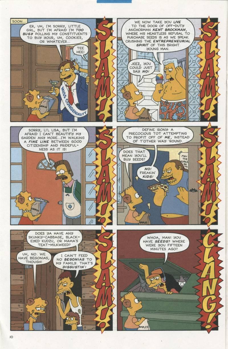 Read online Simpsons Comics comic -  Issue #67 - 11