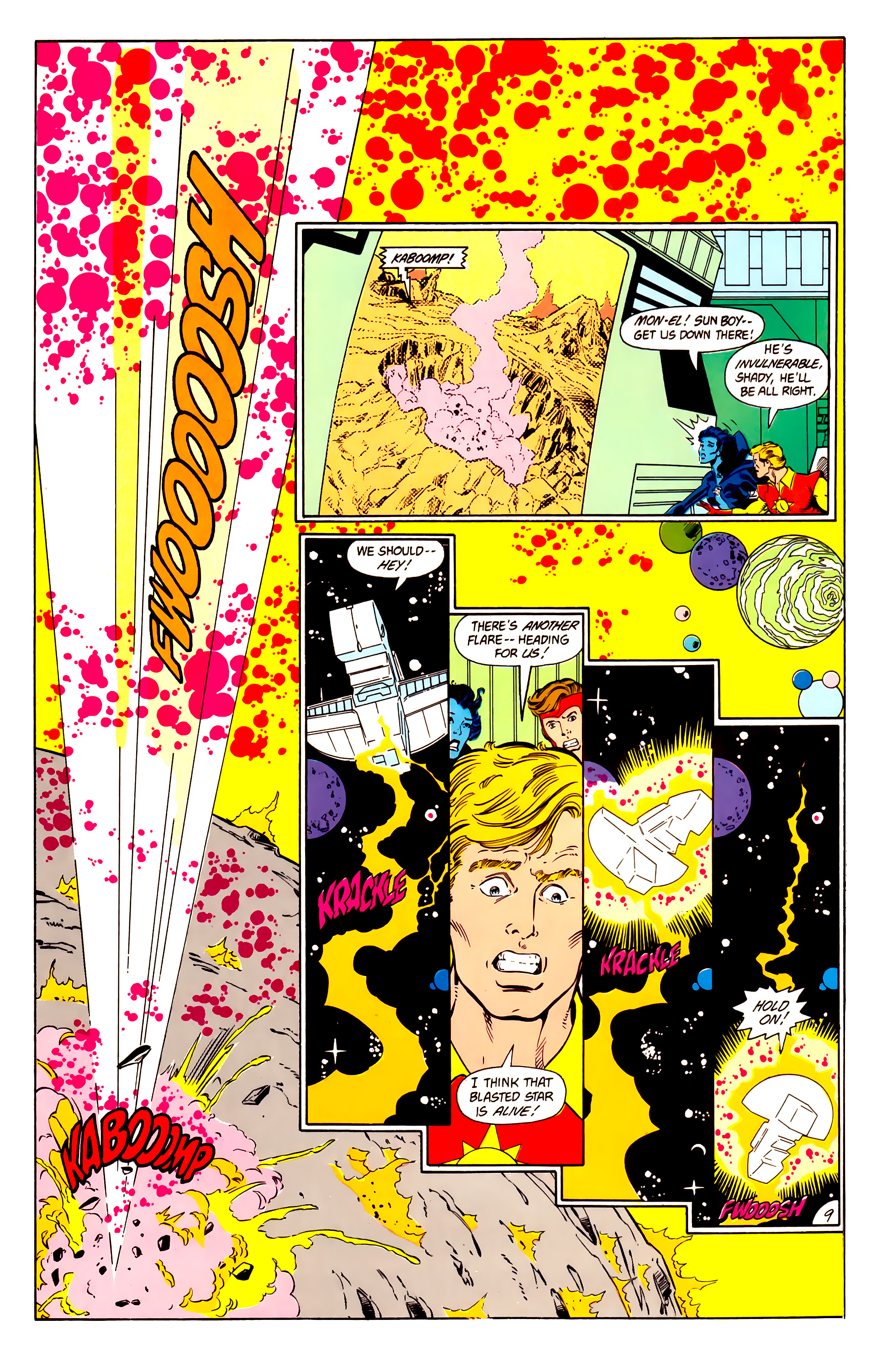 Legion of Super-Heroes (1984) 15 Page 10