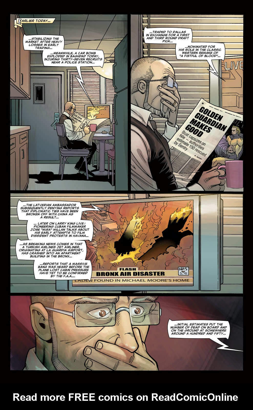 Read online Sentry (2006) comic -  Issue #5 - 16