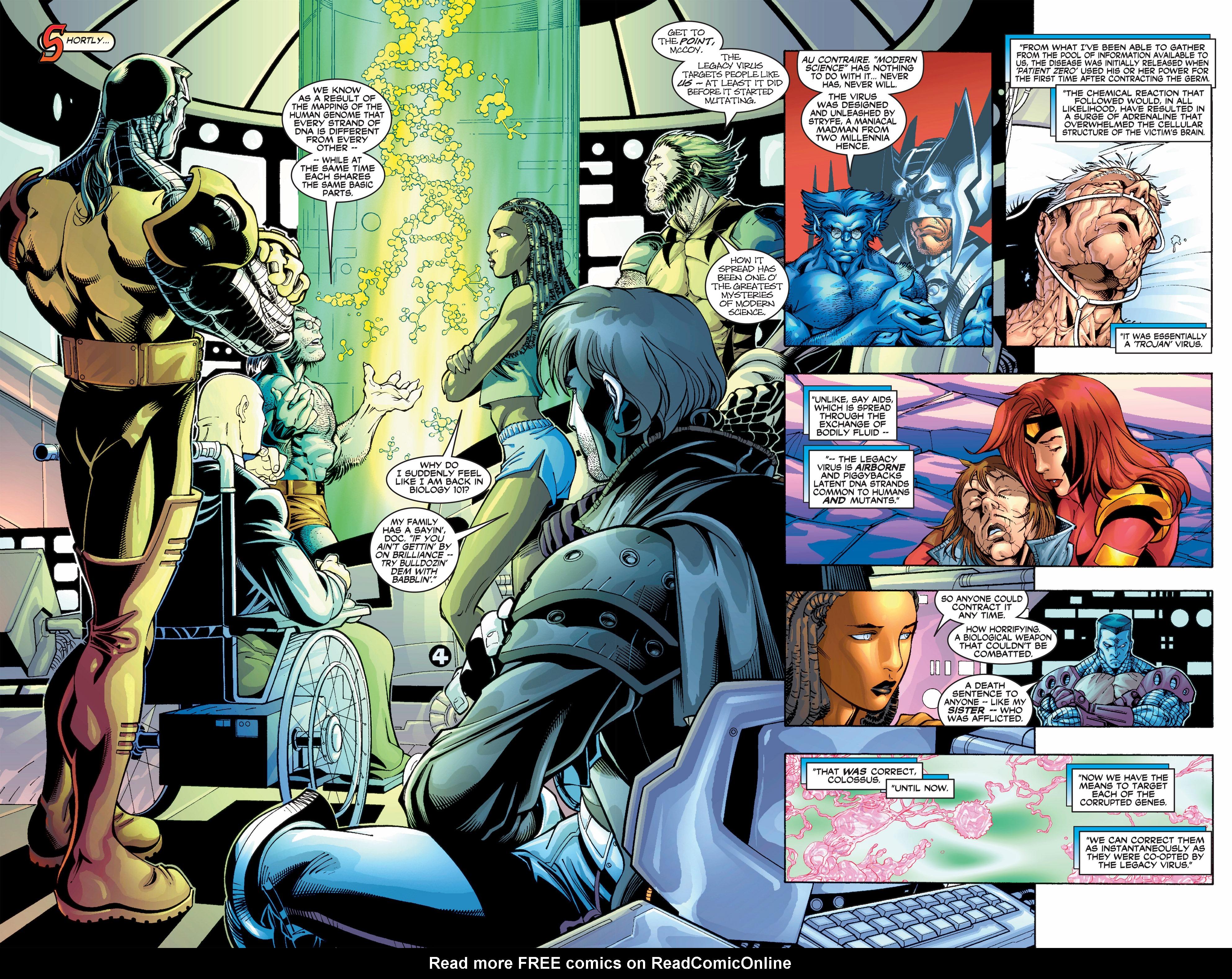 Read online Uncanny X-Men (1963) comic -  Issue #390 - 8