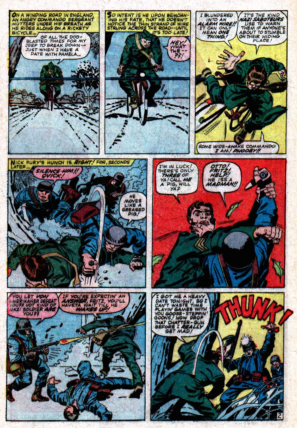 Read online Sgt. Fury comic -  Issue #6 - 4