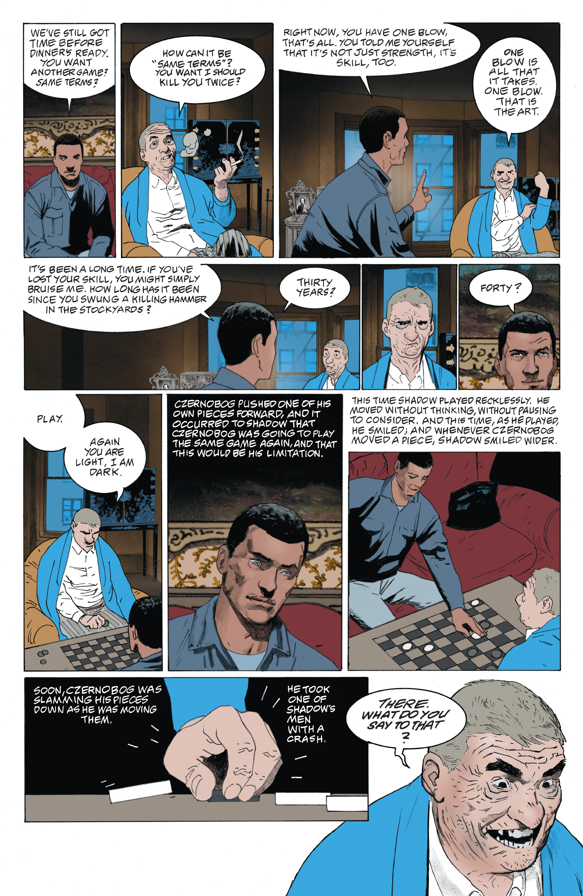 Read online American Gods: Shadows comic -  Issue #4 - 7