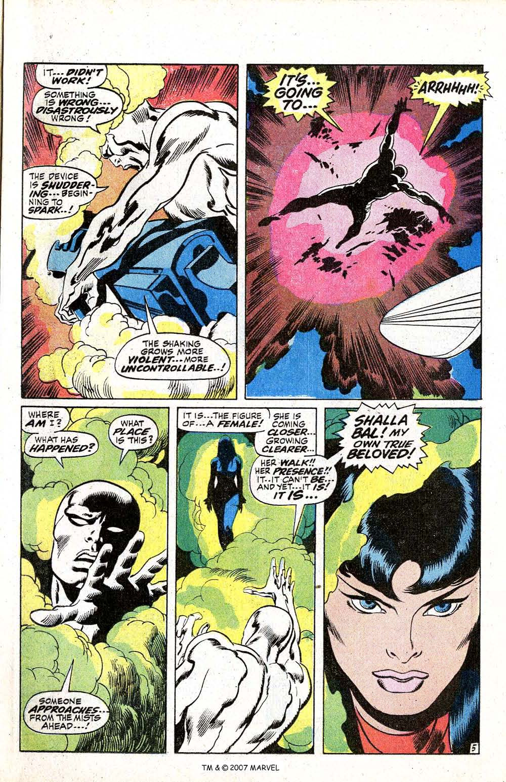 Read online Silver Surfer (1968) comic -  Issue #5 - 7