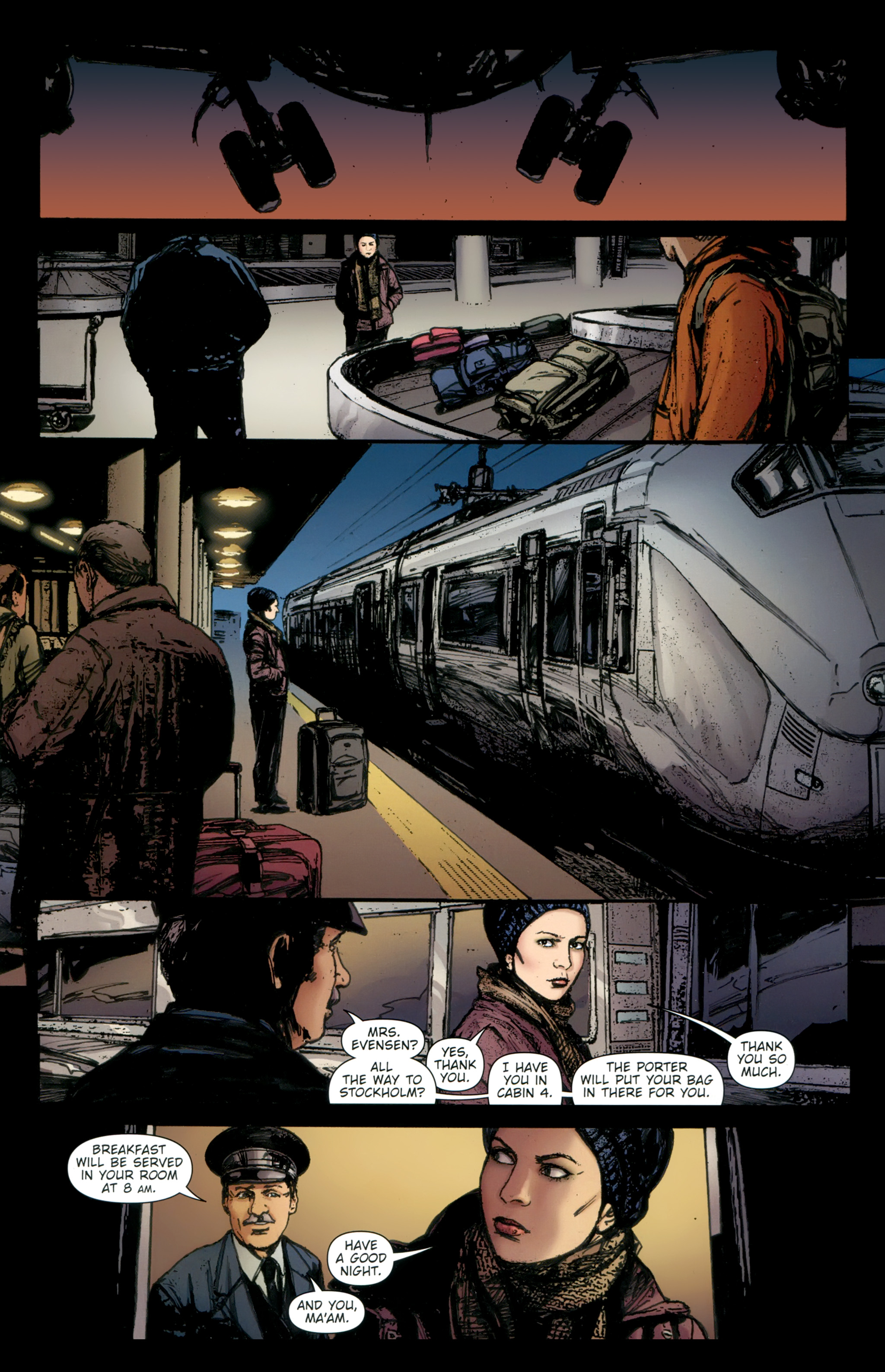 Read online The Girl With the Dragon Tattoo comic -  Issue # TPB 2 - 151