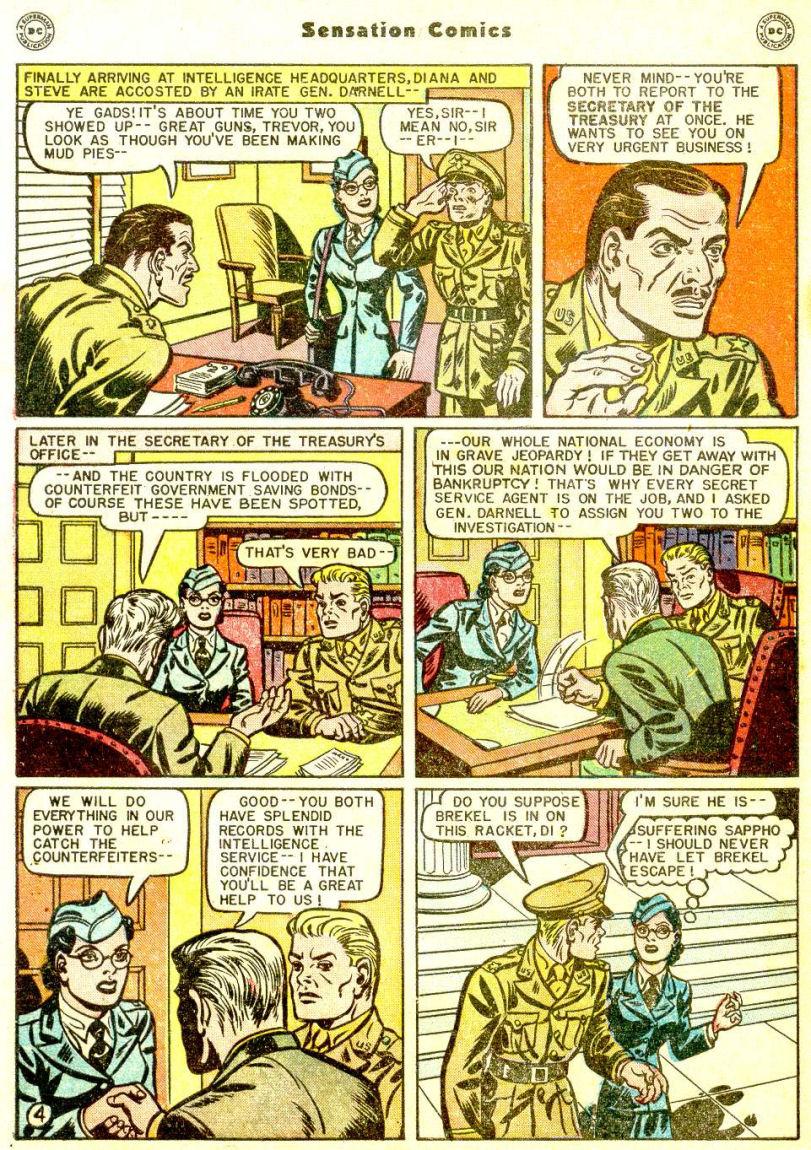 Read online Sensation (Mystery) Comics comic -  Issue #77 - 6