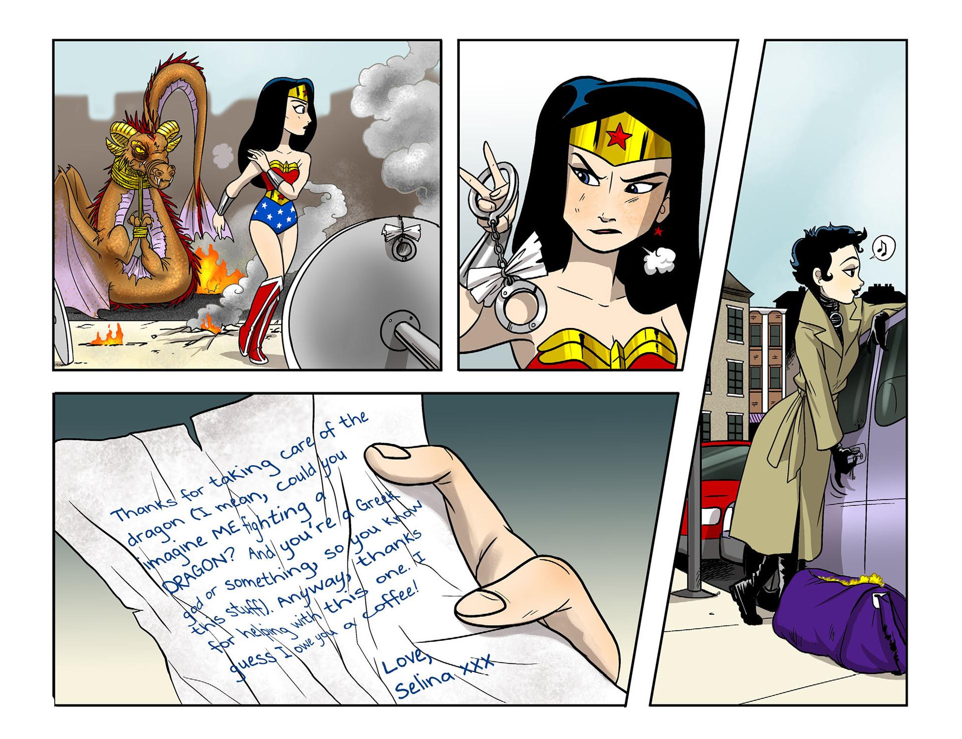 Read online Sensation Comics Featuring Wonder Woman comic -  Issue #9 - 21