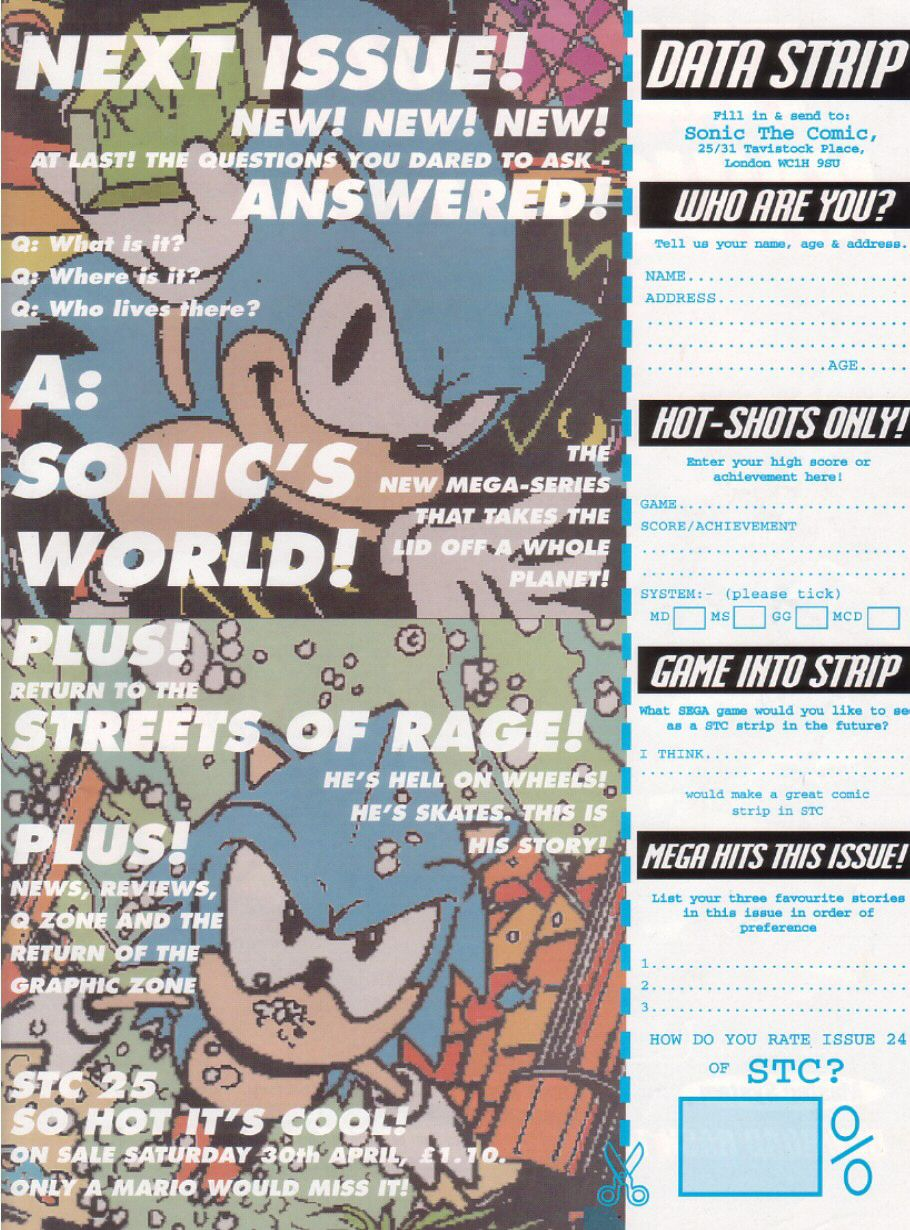 Read online Sonic the Comic comic -  Issue #24 - 31