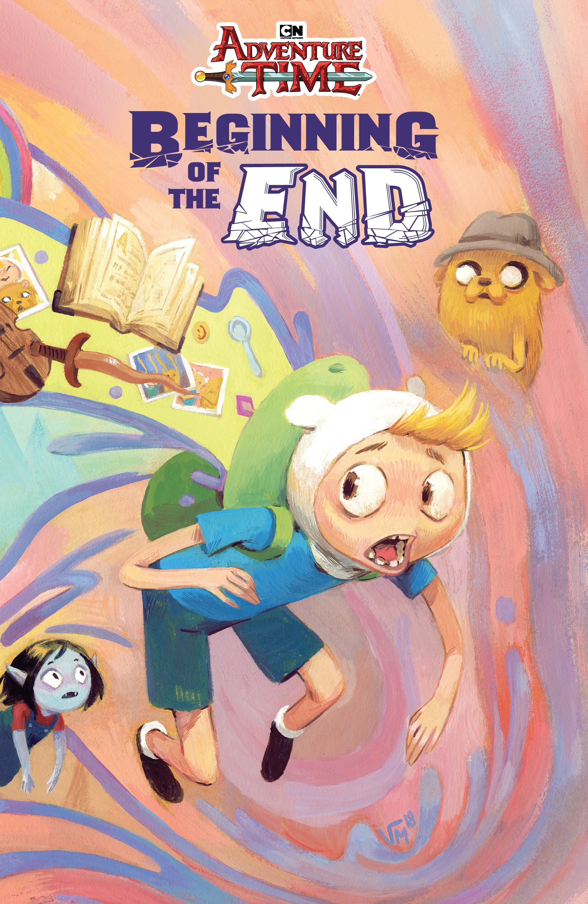Adventure Time: Beginning of the End _TPB Page 1