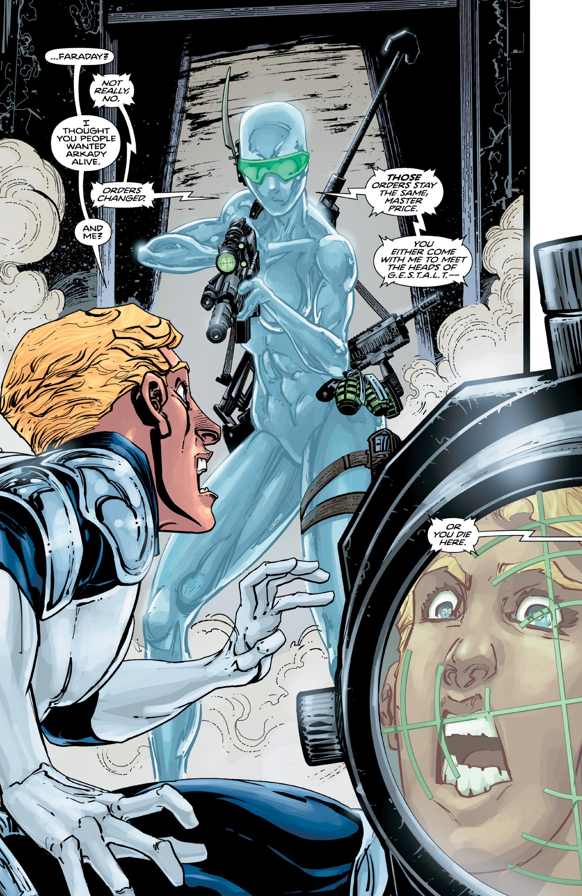 Read online Brain Boy:  The Men from G.E.S.T.A.L.T. comic -  Issue # TPB - 77