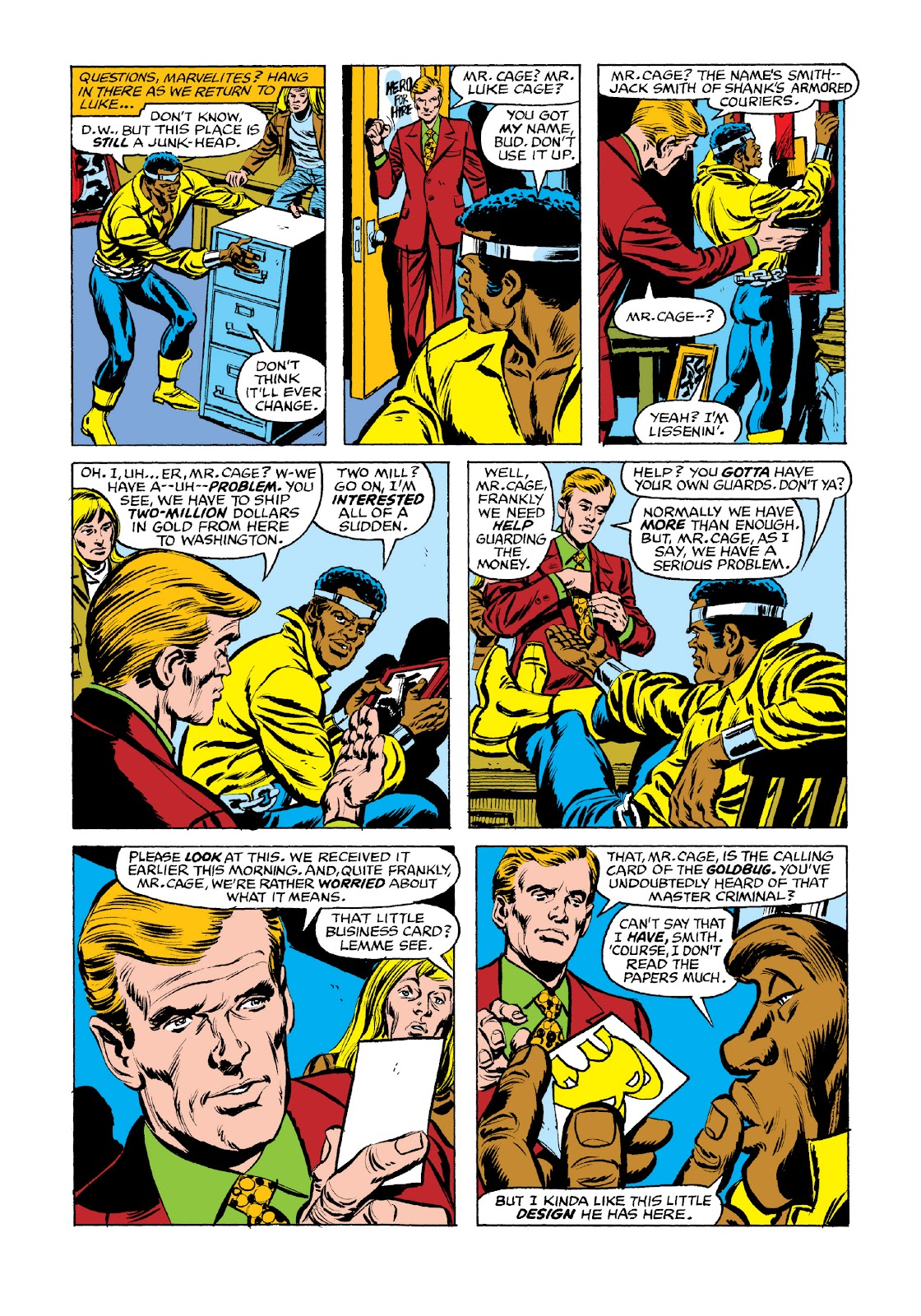 Read online Marvel Masterworks: Luke Cage, Power Man comic -  Issue # TPB 3 (Part 2) - 97