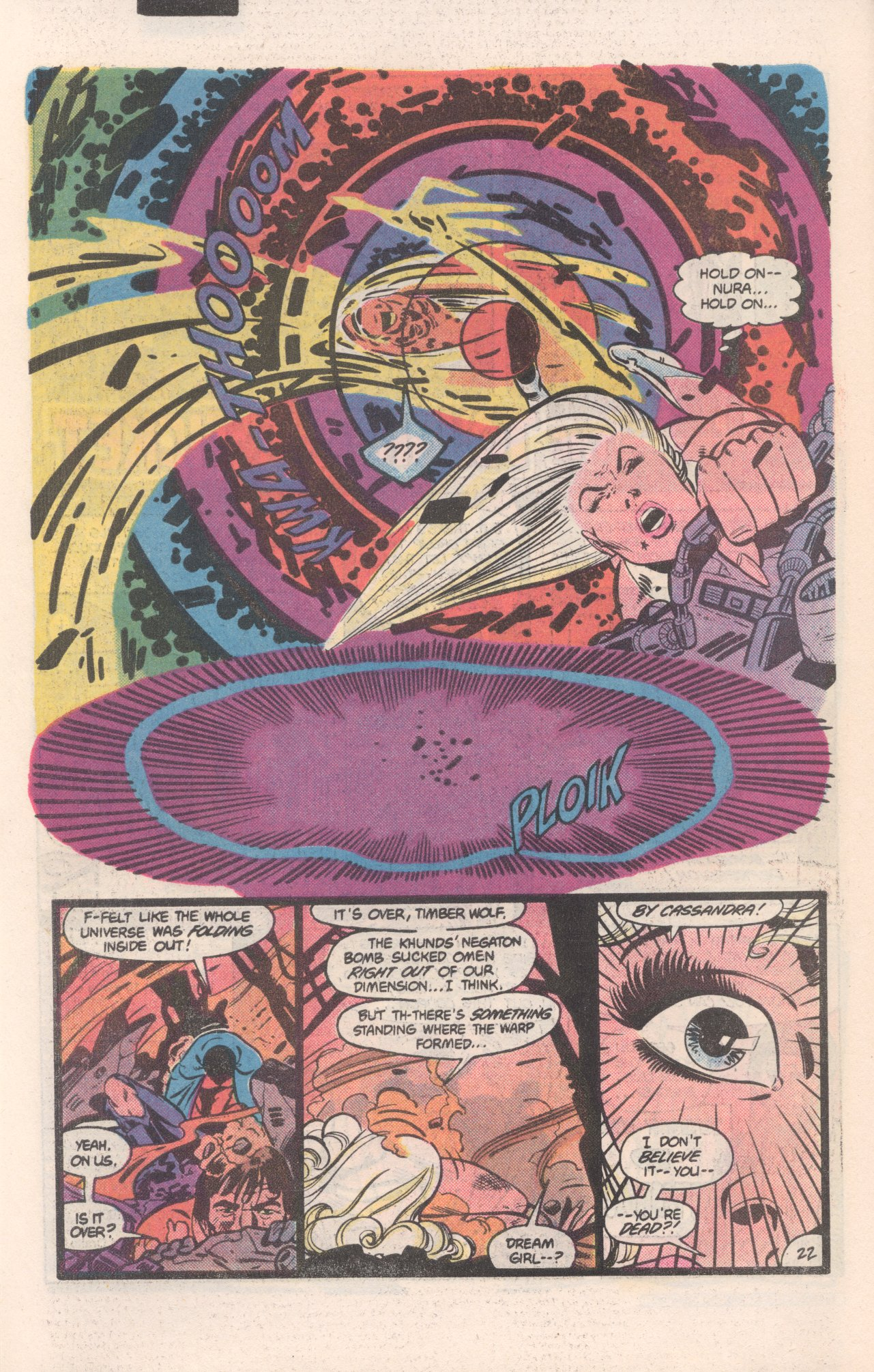 Legion of Super-Heroes (1980) 310 Page 22
