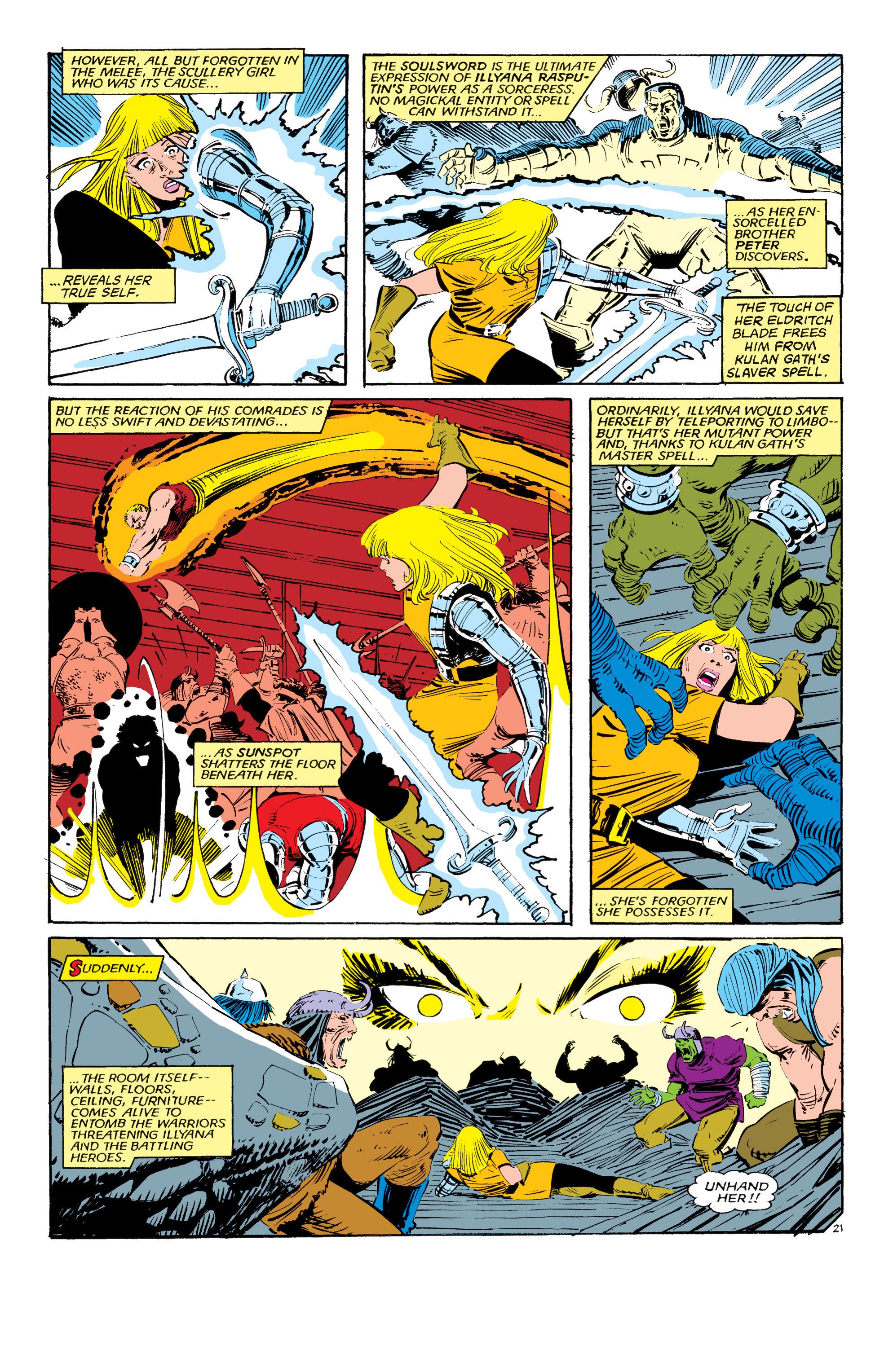 Read online Uncanny X-Men (1963) comic -  Issue #190 - 21