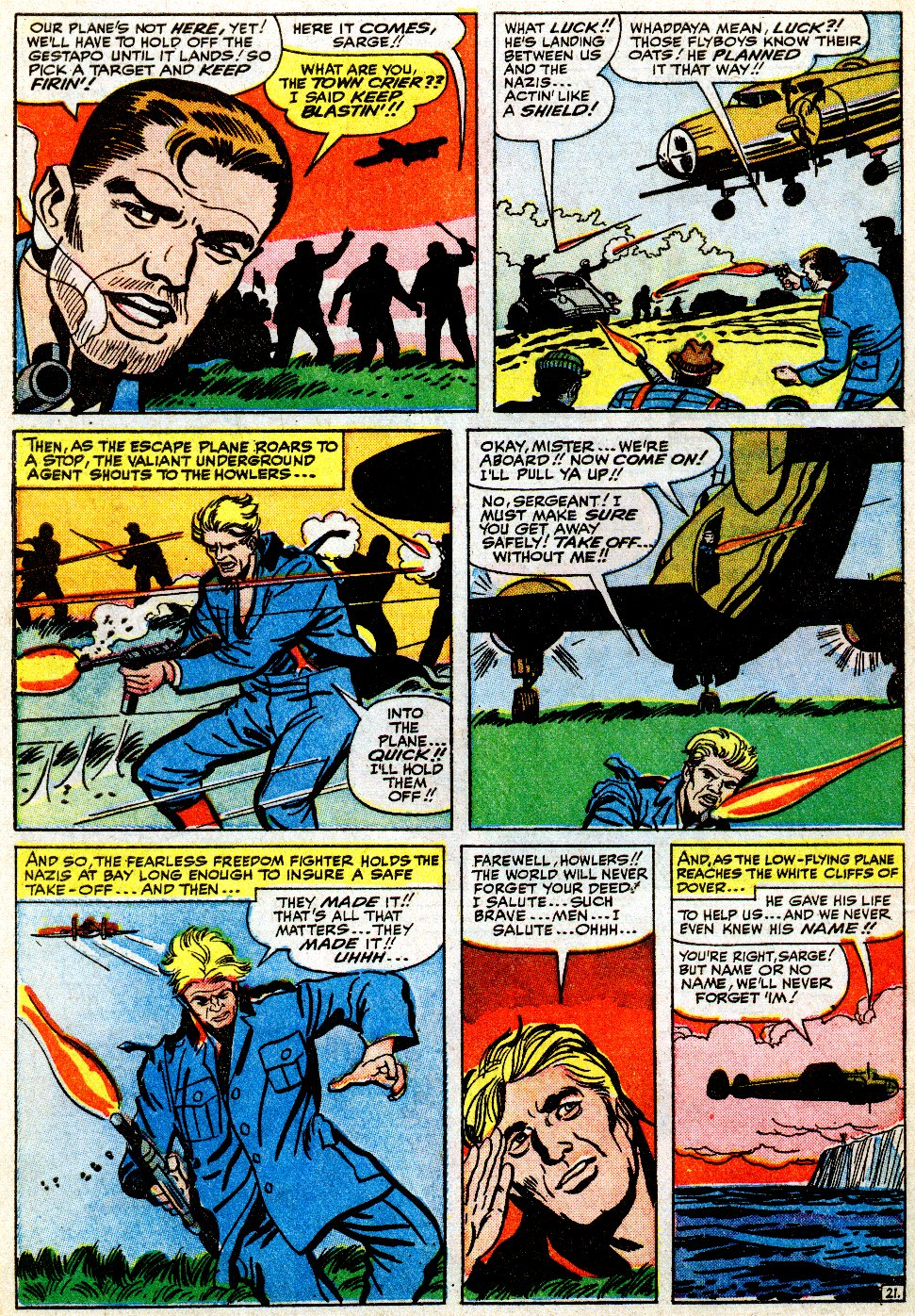 Read online Sgt. Fury comic -  Issue #9 - 30