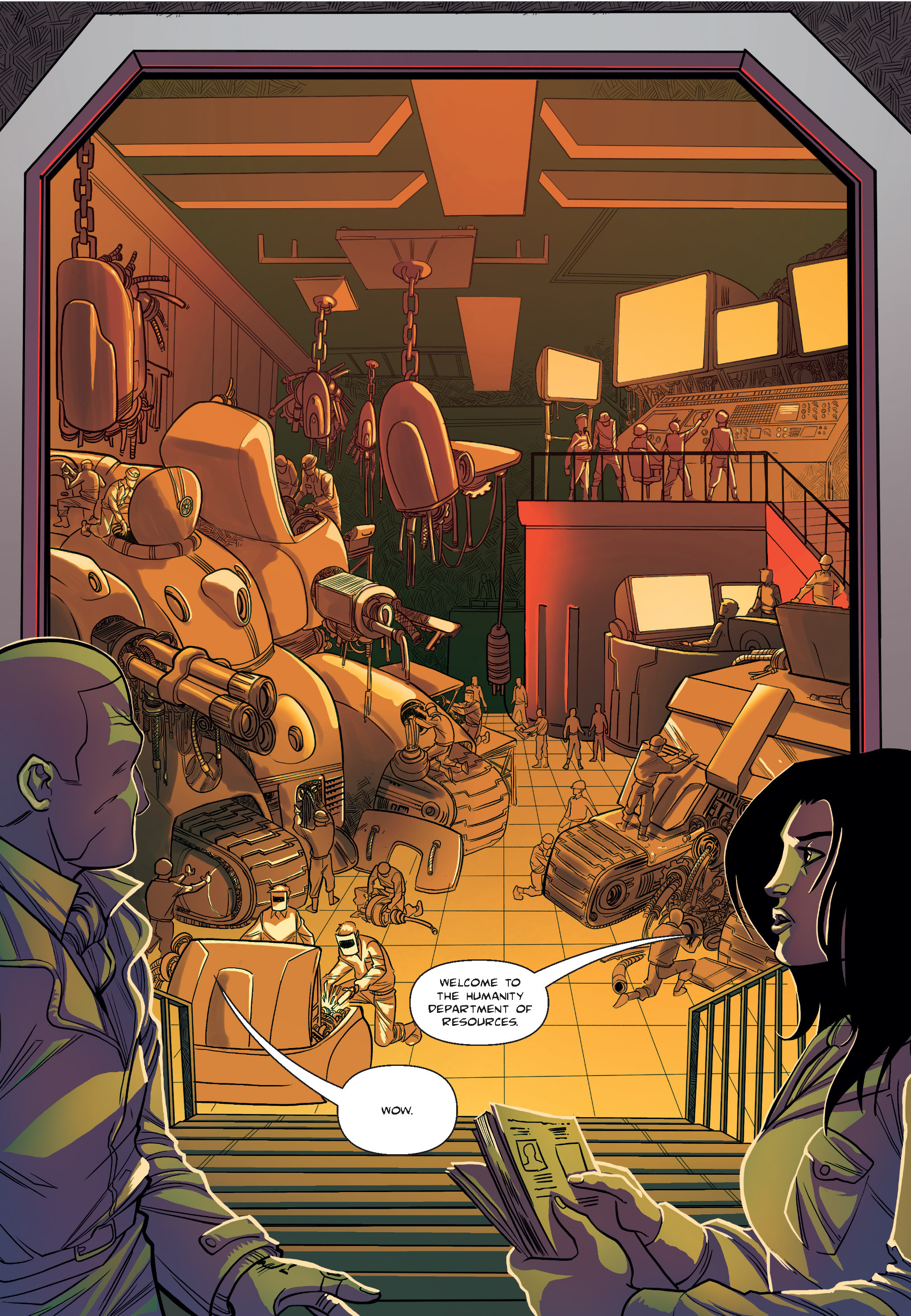Read online The Shadow of a Terrible Thing comic -  Issue # TPB - 15