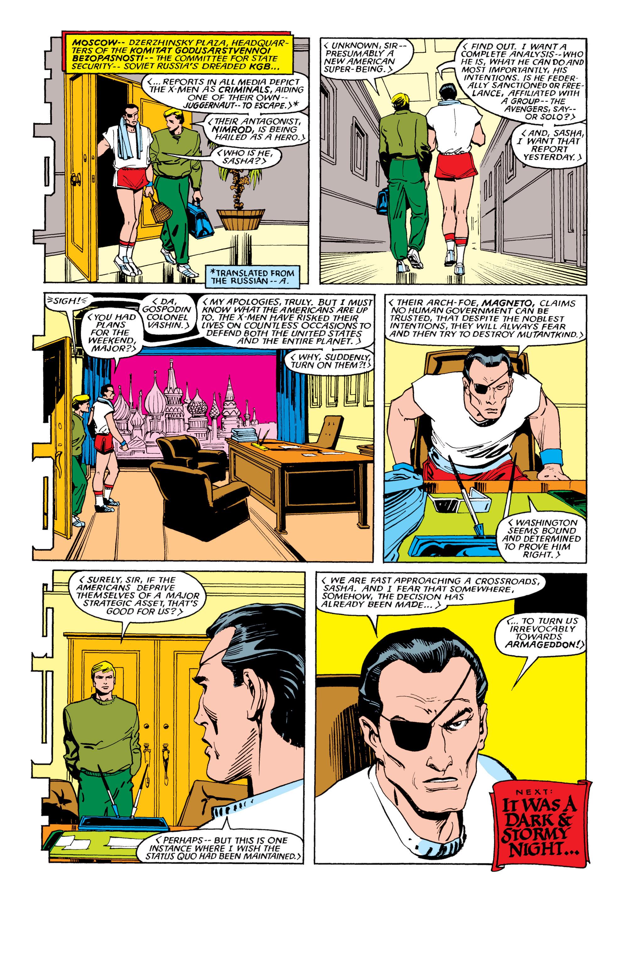 Read online Uncanny X-Men (1963) comic -  Issue #194 - 23