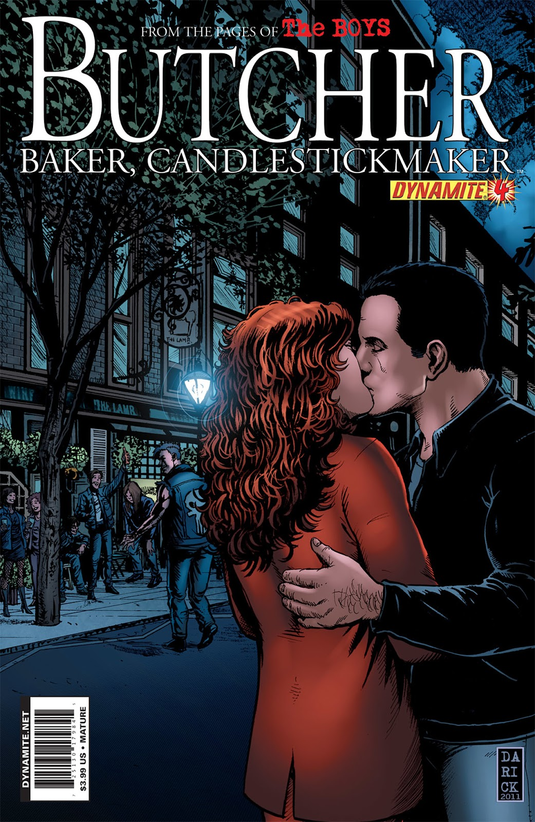 Read online The Boys: Butcher, Baker, Candlestickmaker comic -  Issue #4 - 1