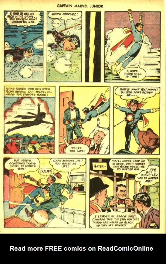 Captain Marvel, Jr. issue 39 - Page 23