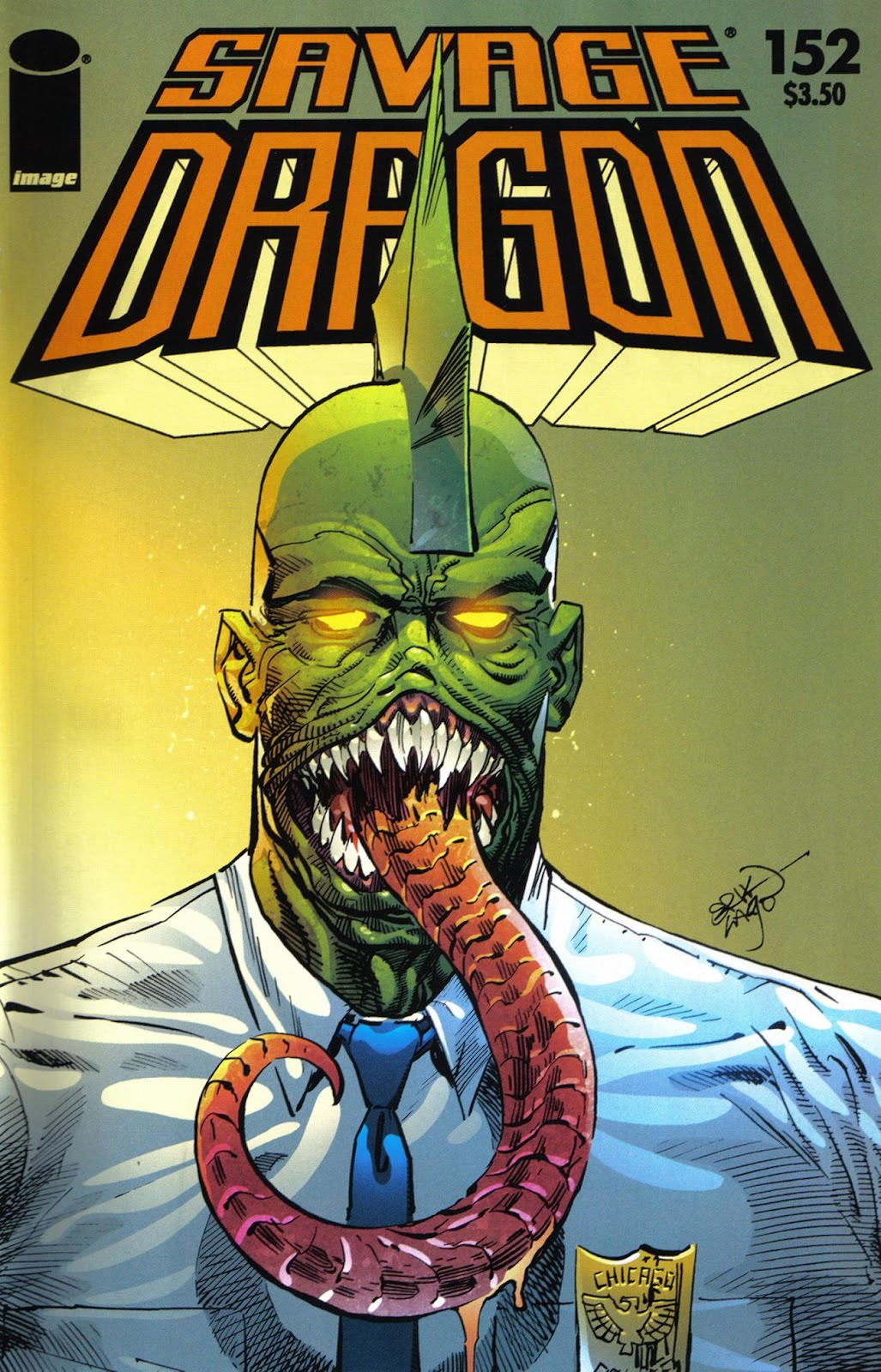 The Savage Dragon (1993) Issue #152 #155 - English 1
