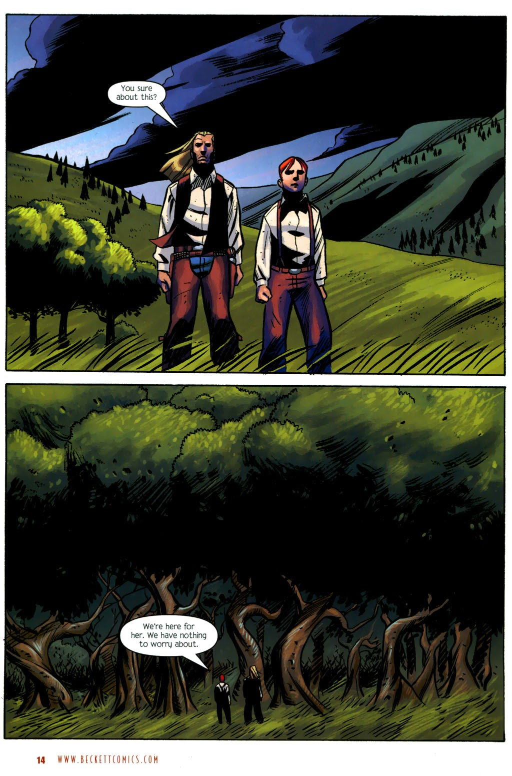 Read online The Ballad of Sleeping Beauty comic -  Issue #6 - 16